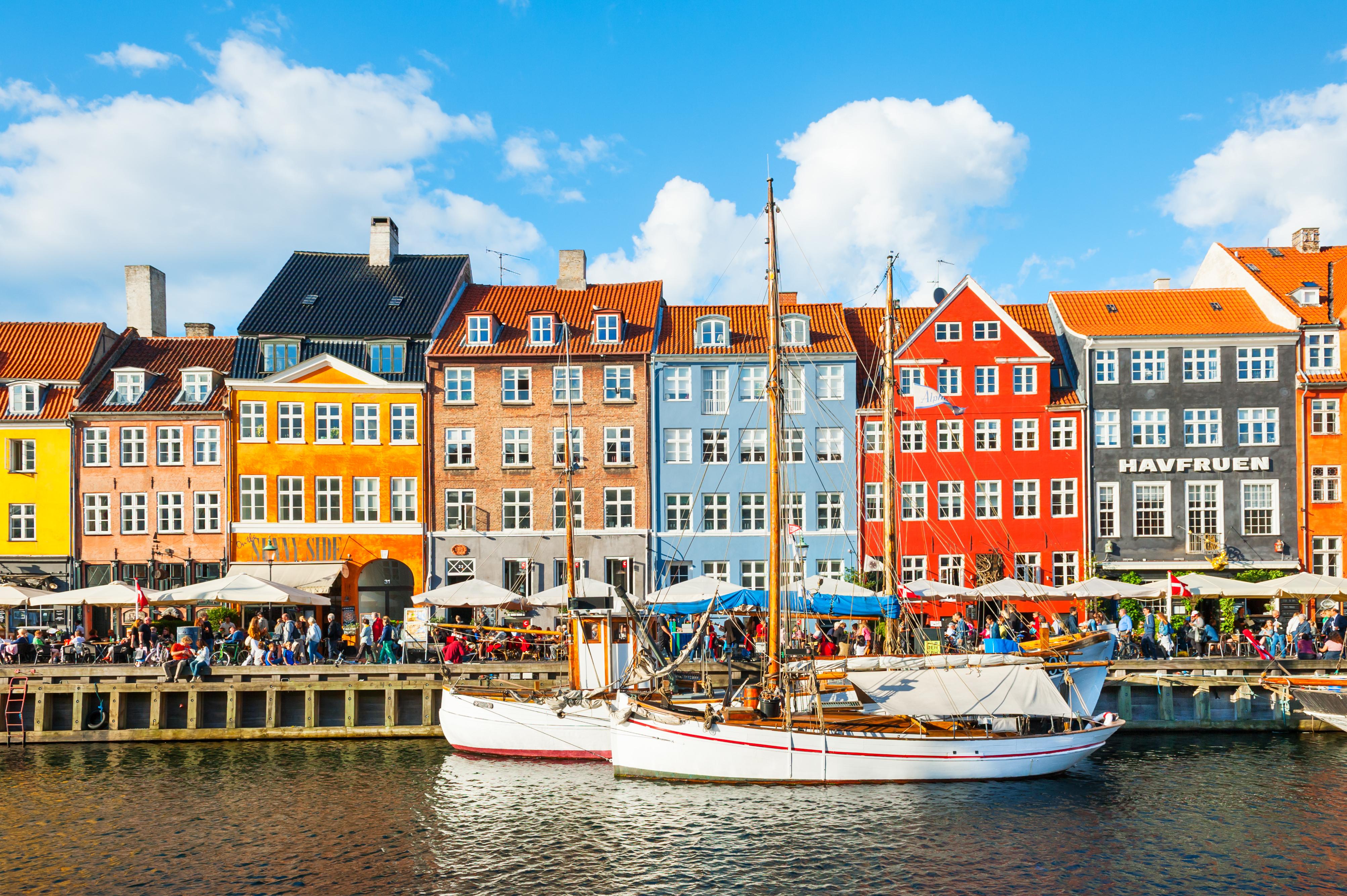 Copenhagen rowhouses