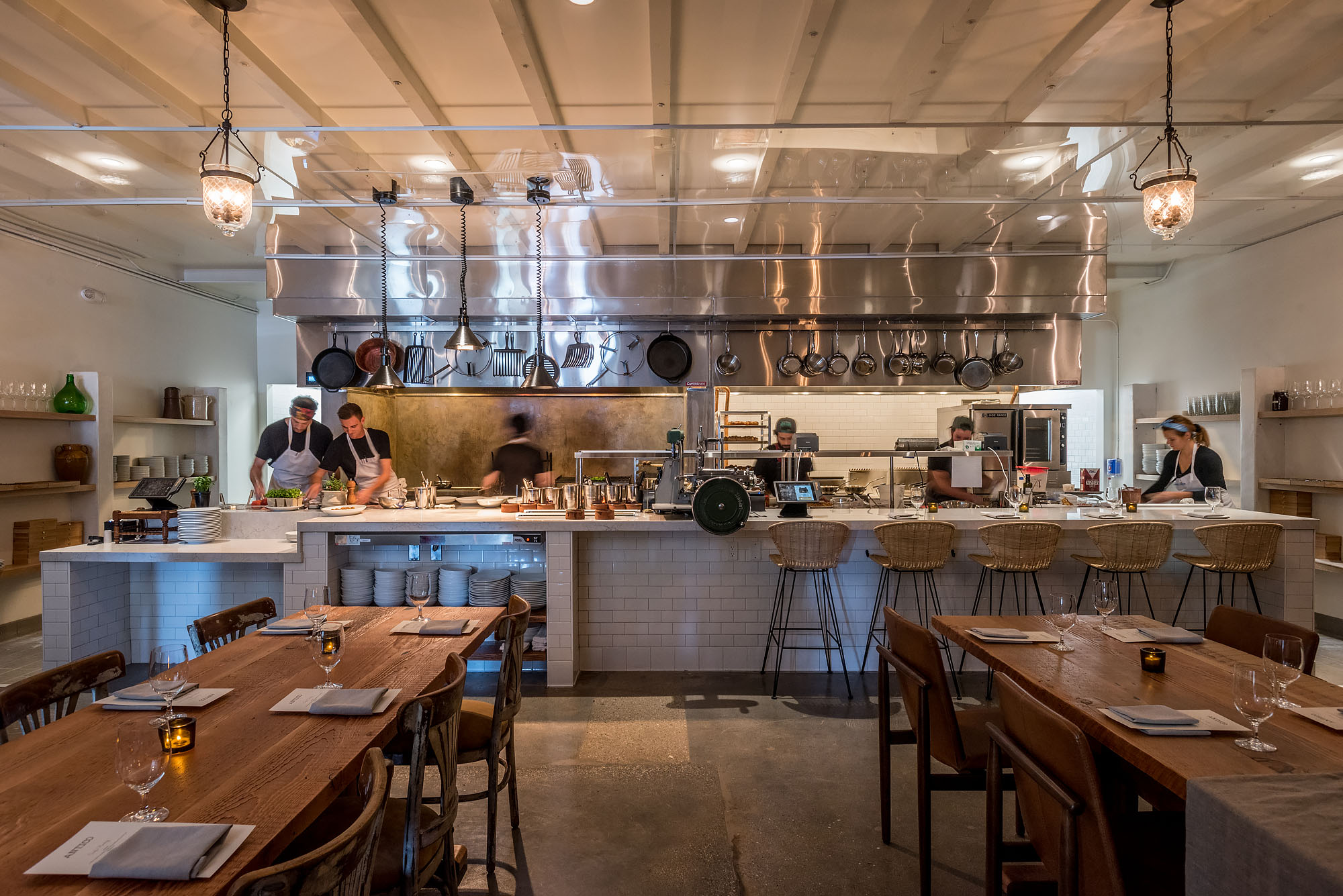 Warm Up By the Hearth at Antico, Chad Colby's New Italian Farmhouse in LA