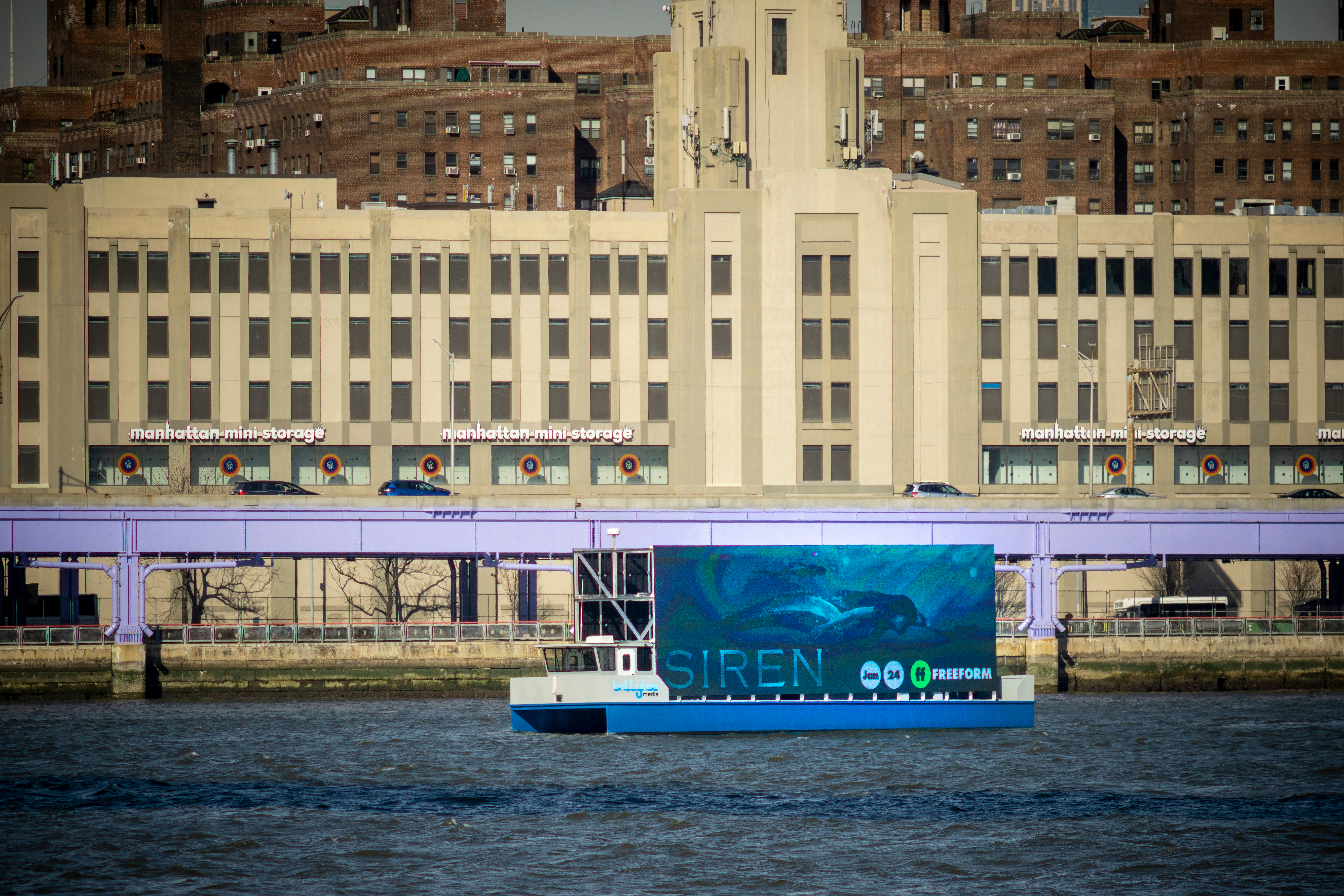 Digital billboards may be banned from NYC waterways under new bill