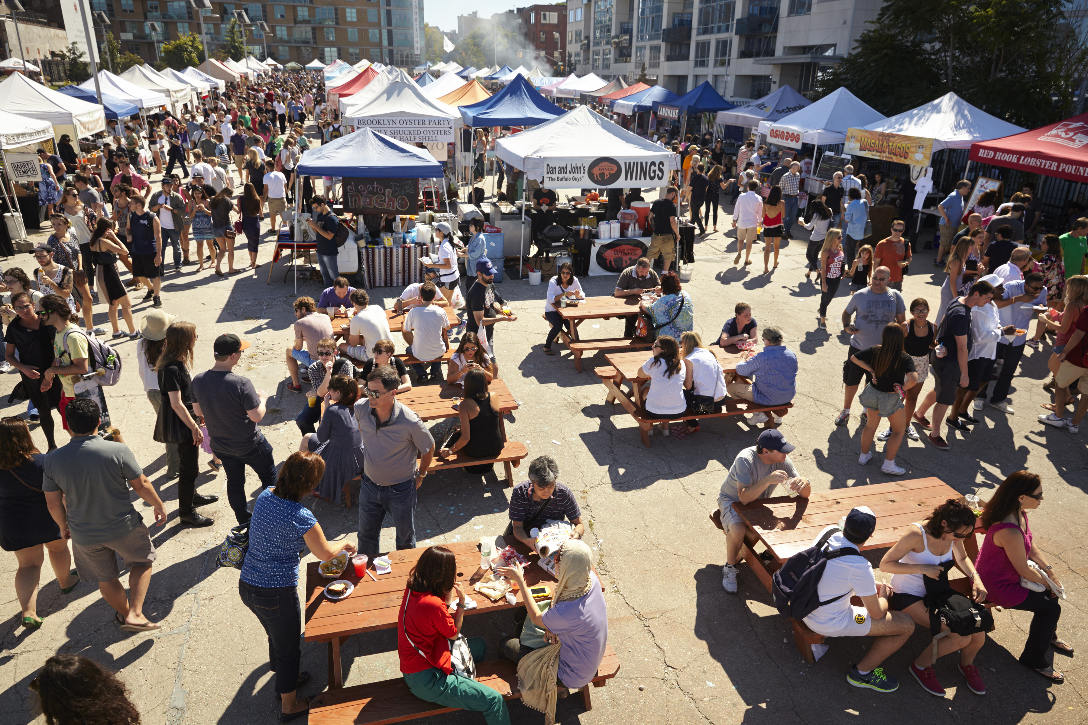Always-Crowded Smorgasburg Outdoor Food Market Debuts in D.C. on Saturday