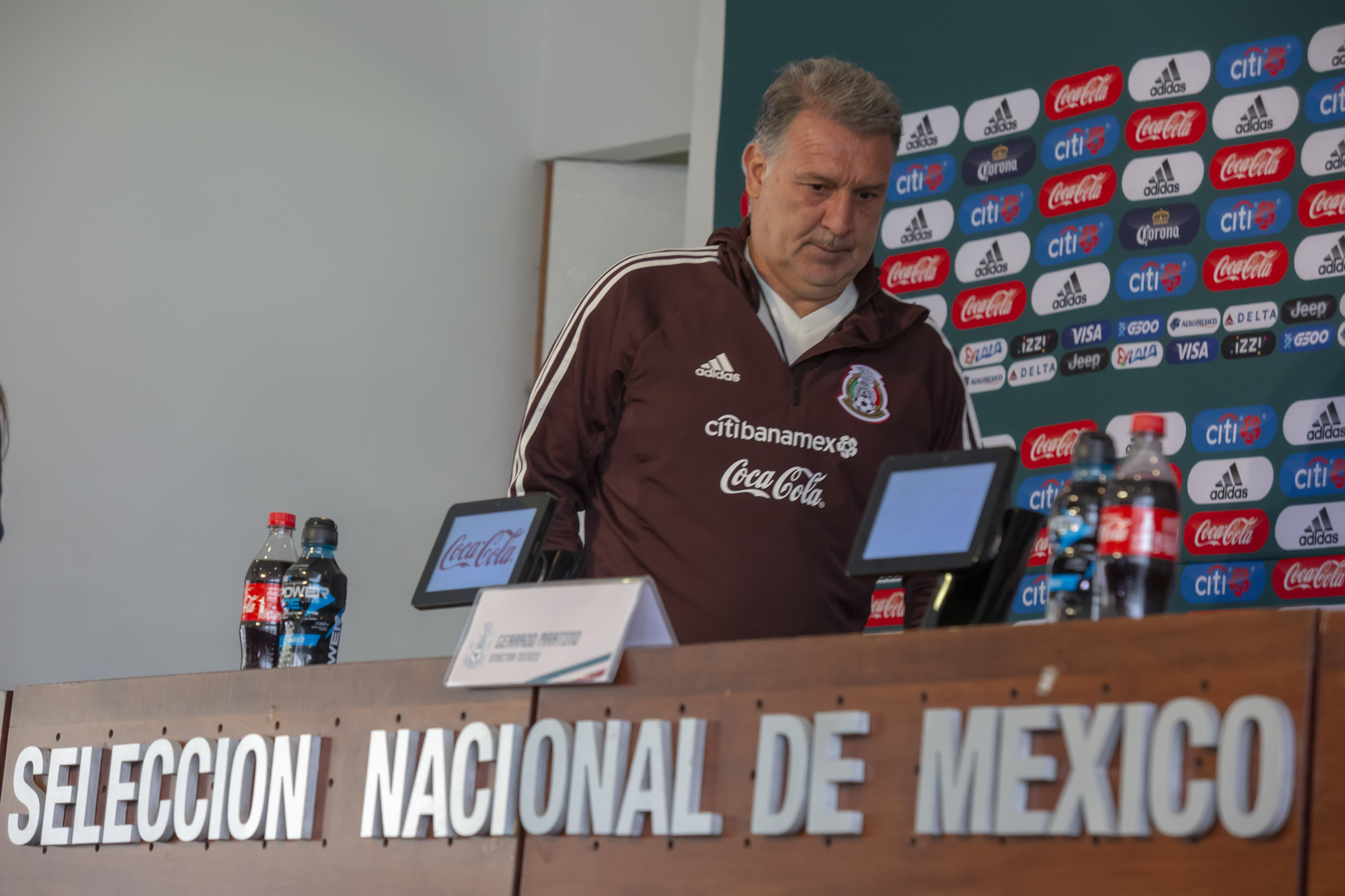 Mexico National Team Training Session & Press Conference