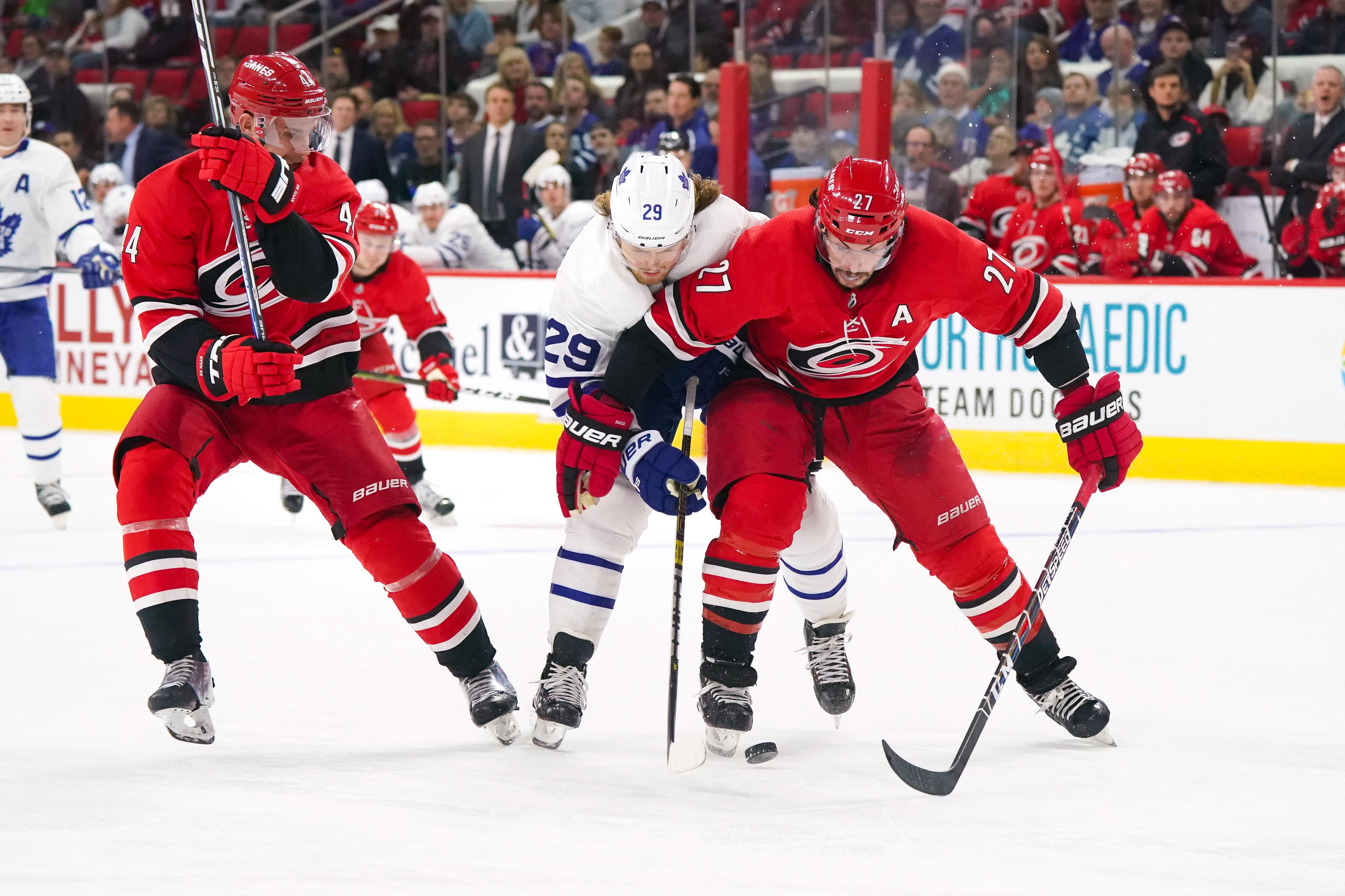 NHL: Toronto Maple Leafs at Carolina Hurricanes