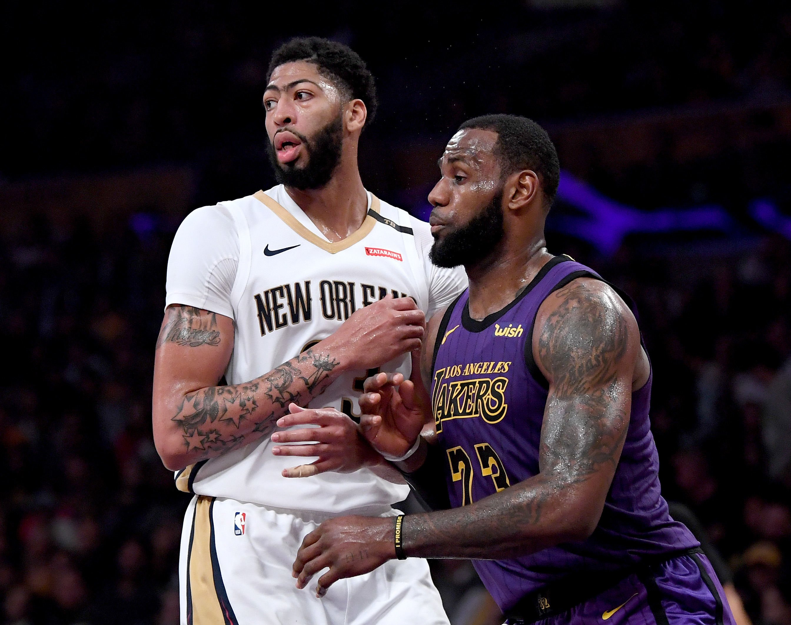After all that, Anthony Davis was traded to the Lakers anyway