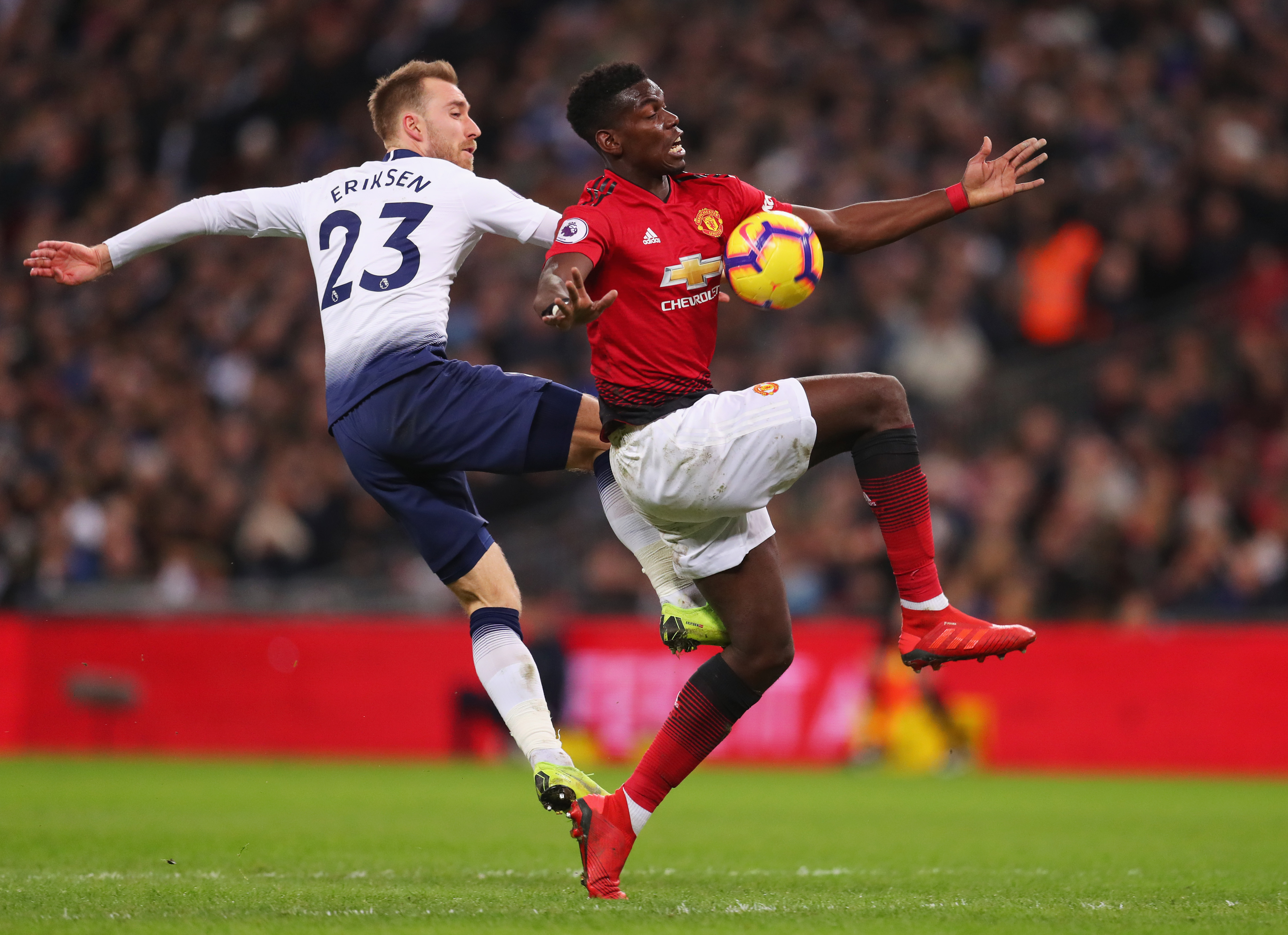 """Paul Pogba and Christian Eriksen both want """"new challenge"""" amid Madrid links"""