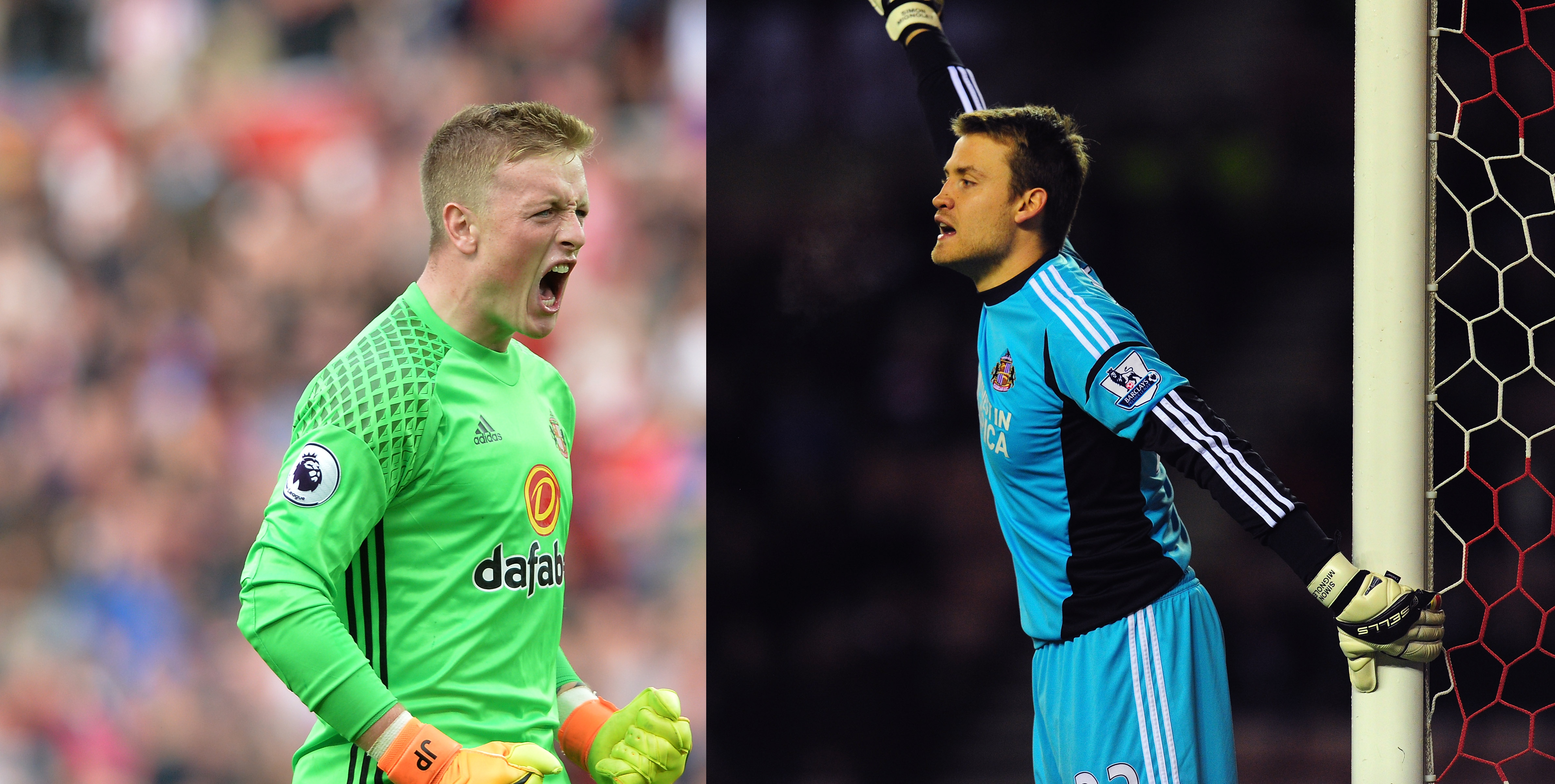 Sunderland's Greatest Goalkeeper of all time (Quarter Finals): Mignolet v Pickford - VOTE NOW!