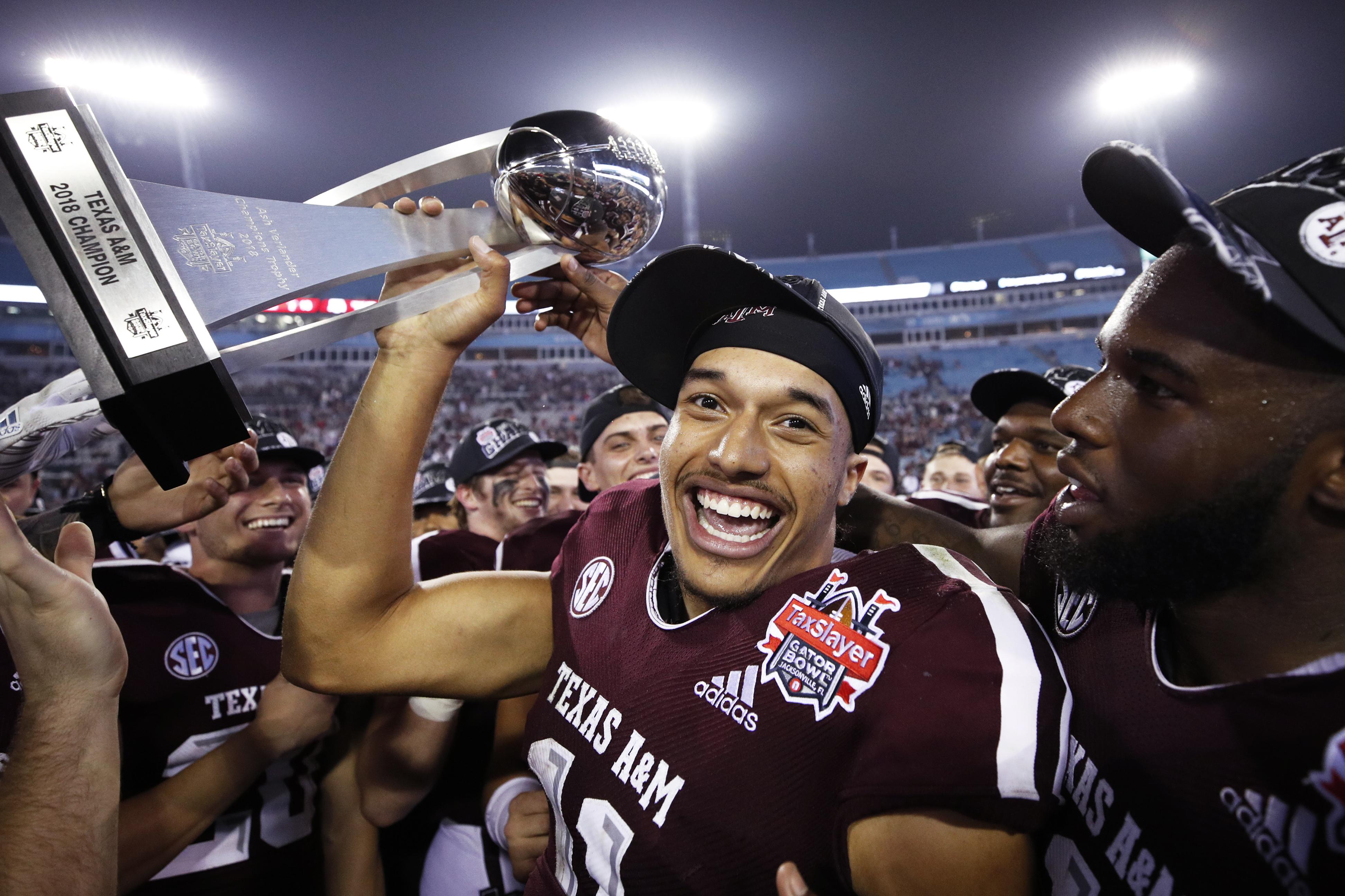 TaxSlayer Gator Bowl - North Carolina State v Texas A&M