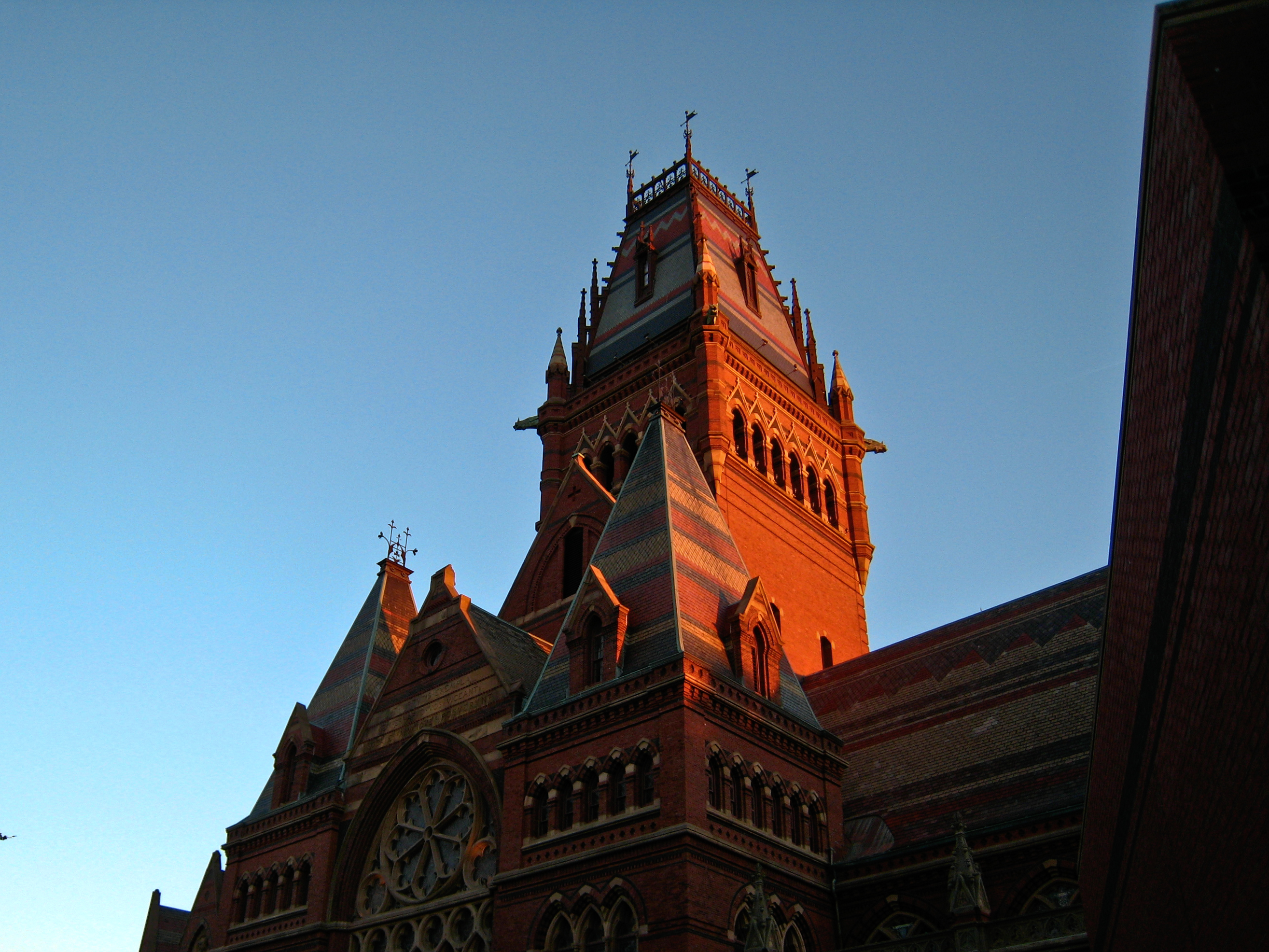 Sanders Theater at Harvard University.