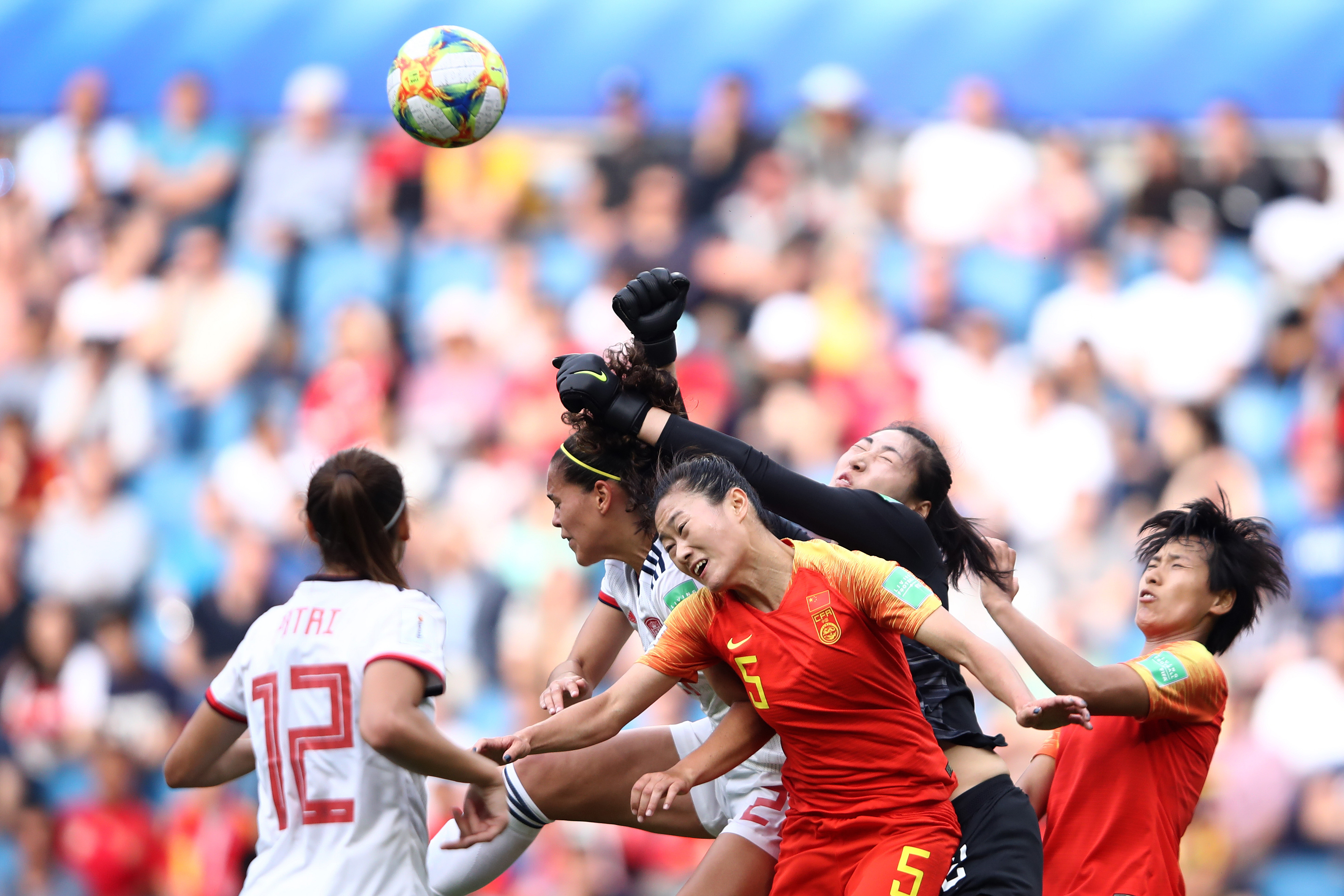 China PR v Spain: Group B - 2019 FIFA Women's World Cup France