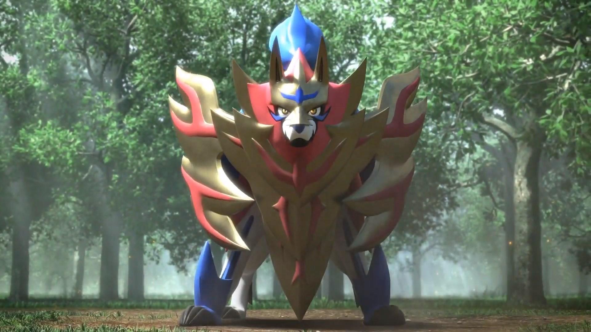 Pokemon Sword And Shield S Pokedex Fuss Starts Incredible 3d Art