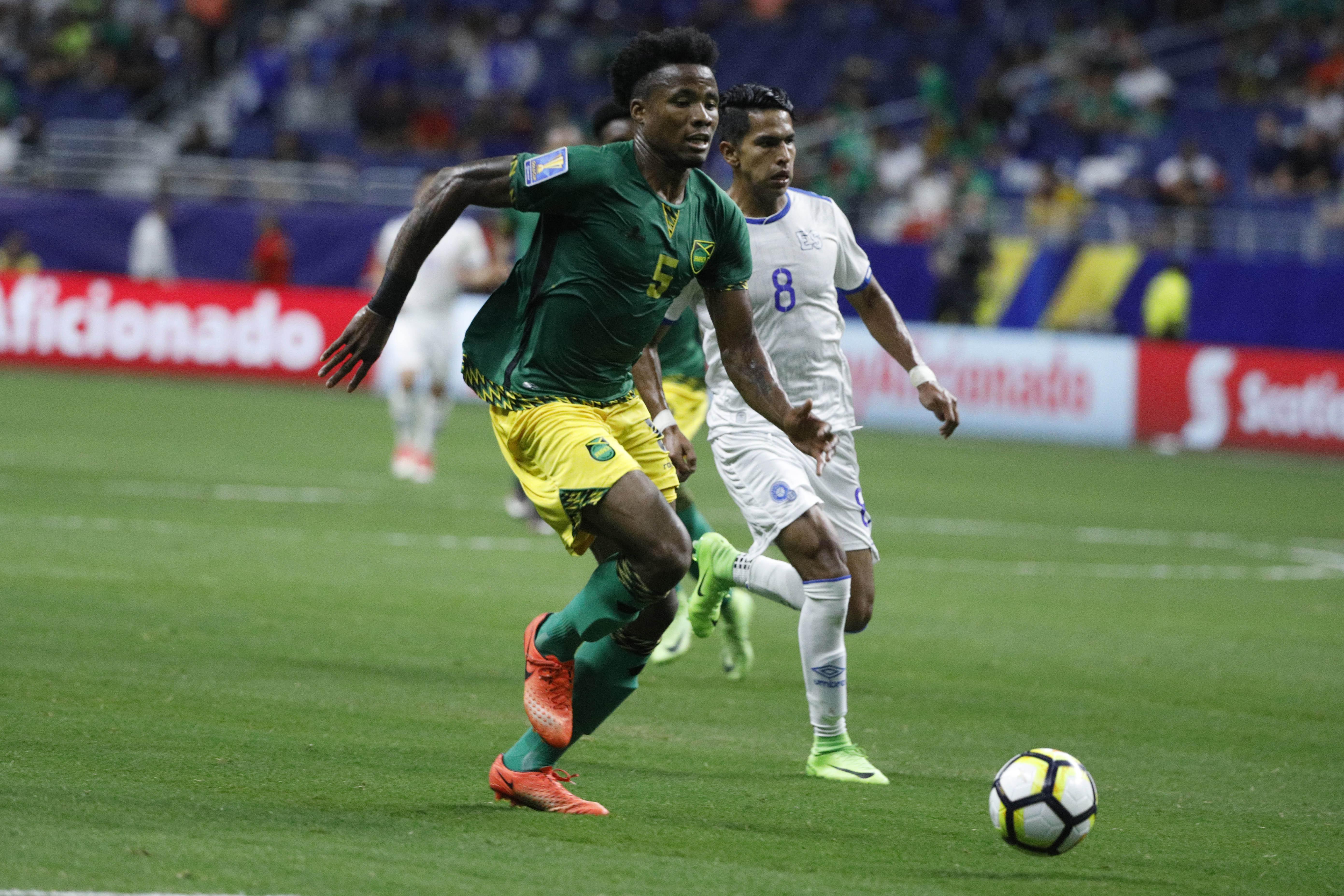 Soccer: 2017 CONCACAF Gold Cup-Jamaica at El Salvador
