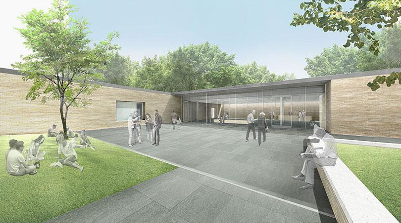 Frank Lloyd Wright's home and studio gets new John Ronan-designed visitor center