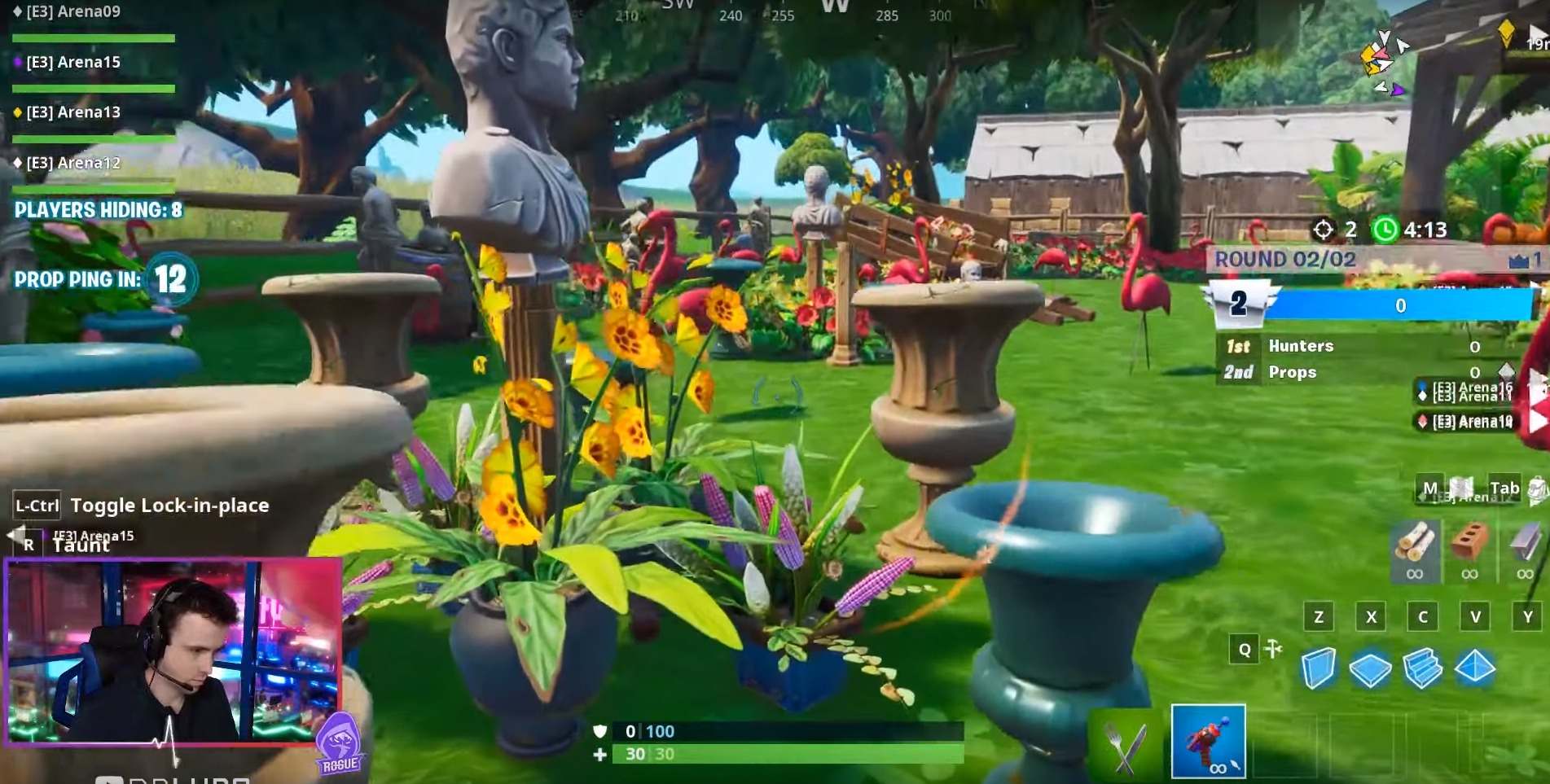 Fortnite's upcoming prop hunt mode has a twist