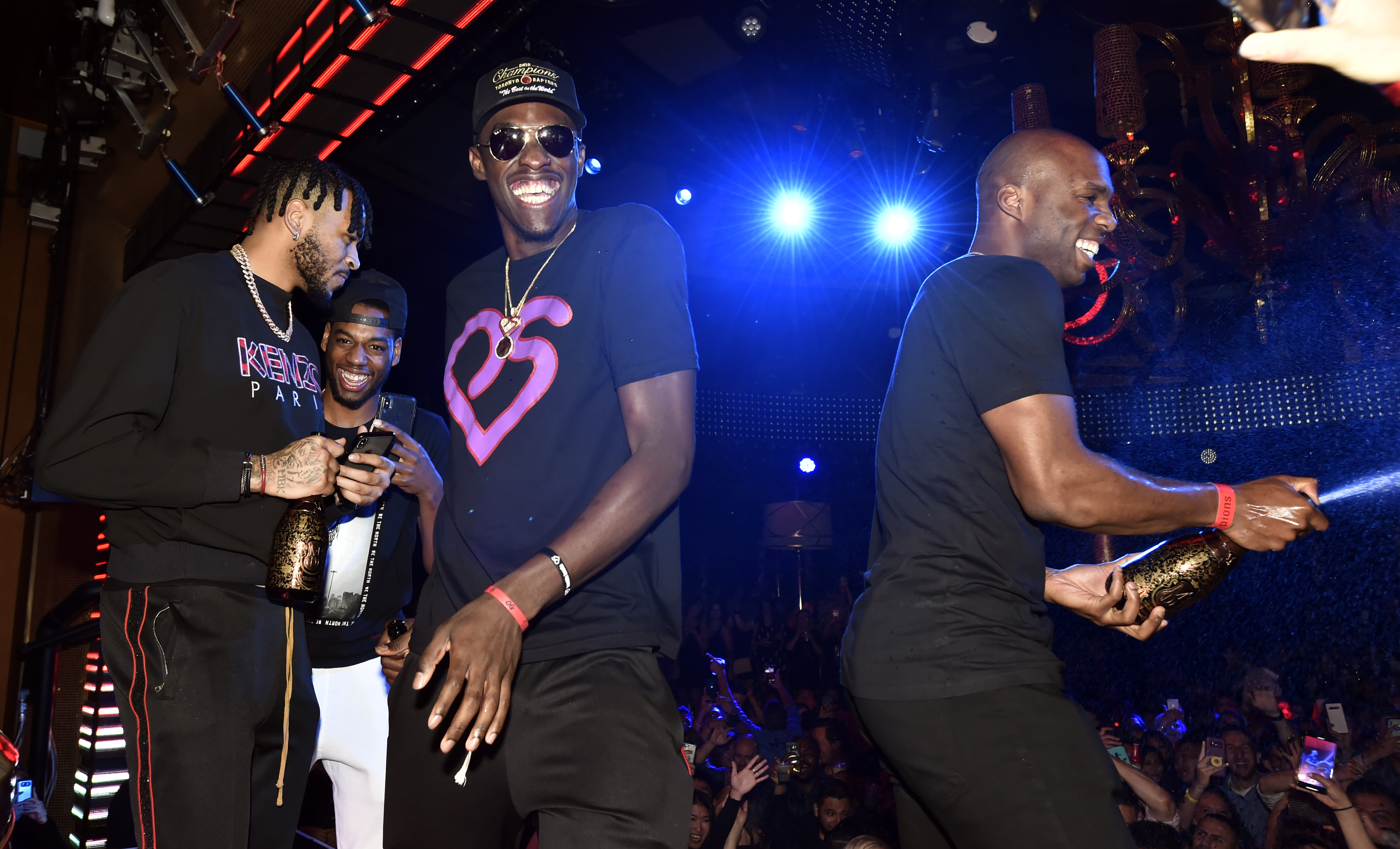 How The Toronto Raptors and St. Louis Blues Celebrated Their Championships in Las Vegas
