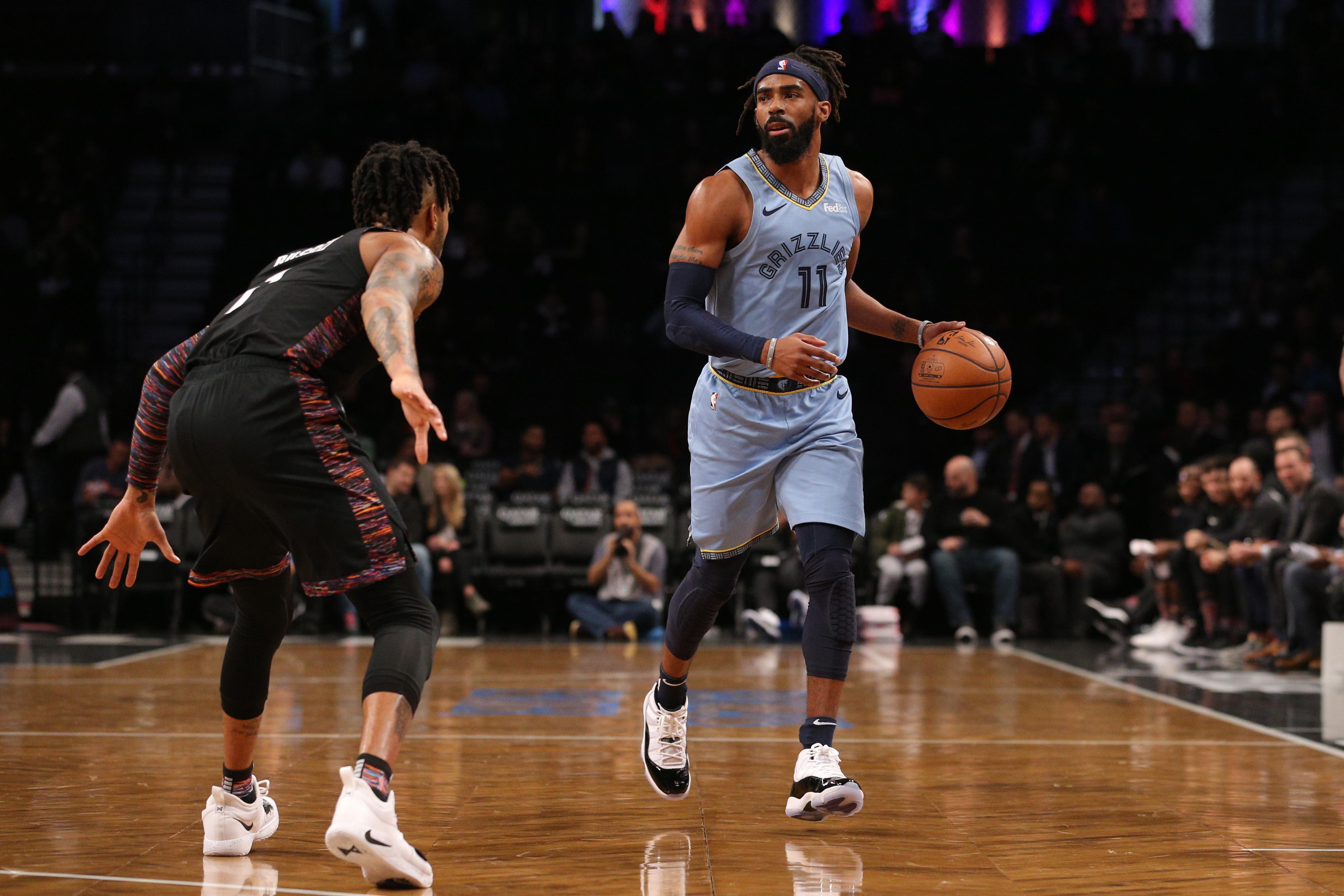 NBA: Memphis Grizzlies at Brooklyn Nets