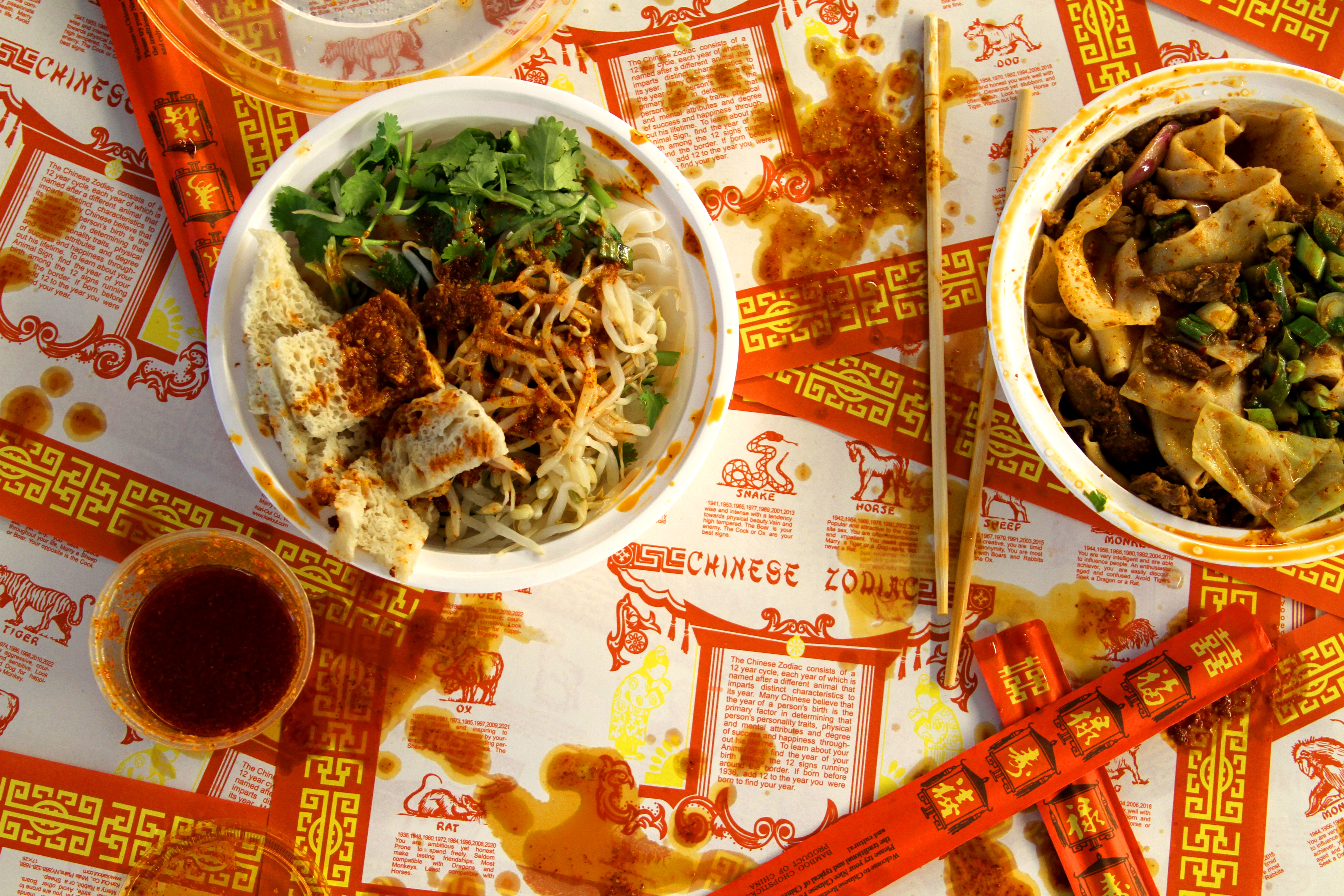 The History of Chinese Zodiac Placemats in Chinese-American