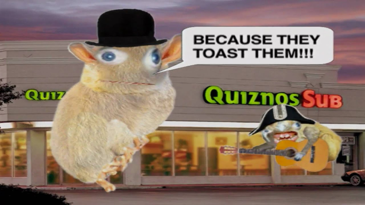 Dear God, Twitter Resurrected the Quiznos Monsters That Haunted the 2000s