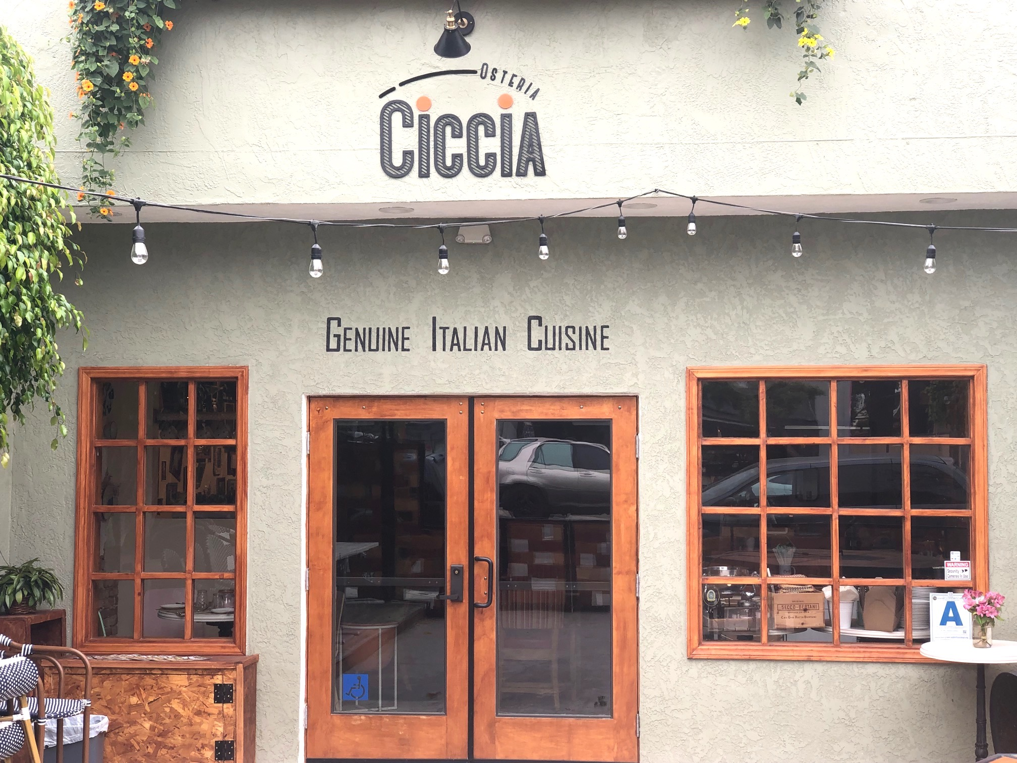 Ciccia Osteria Brings a Taste of Italy to Barrio Logan