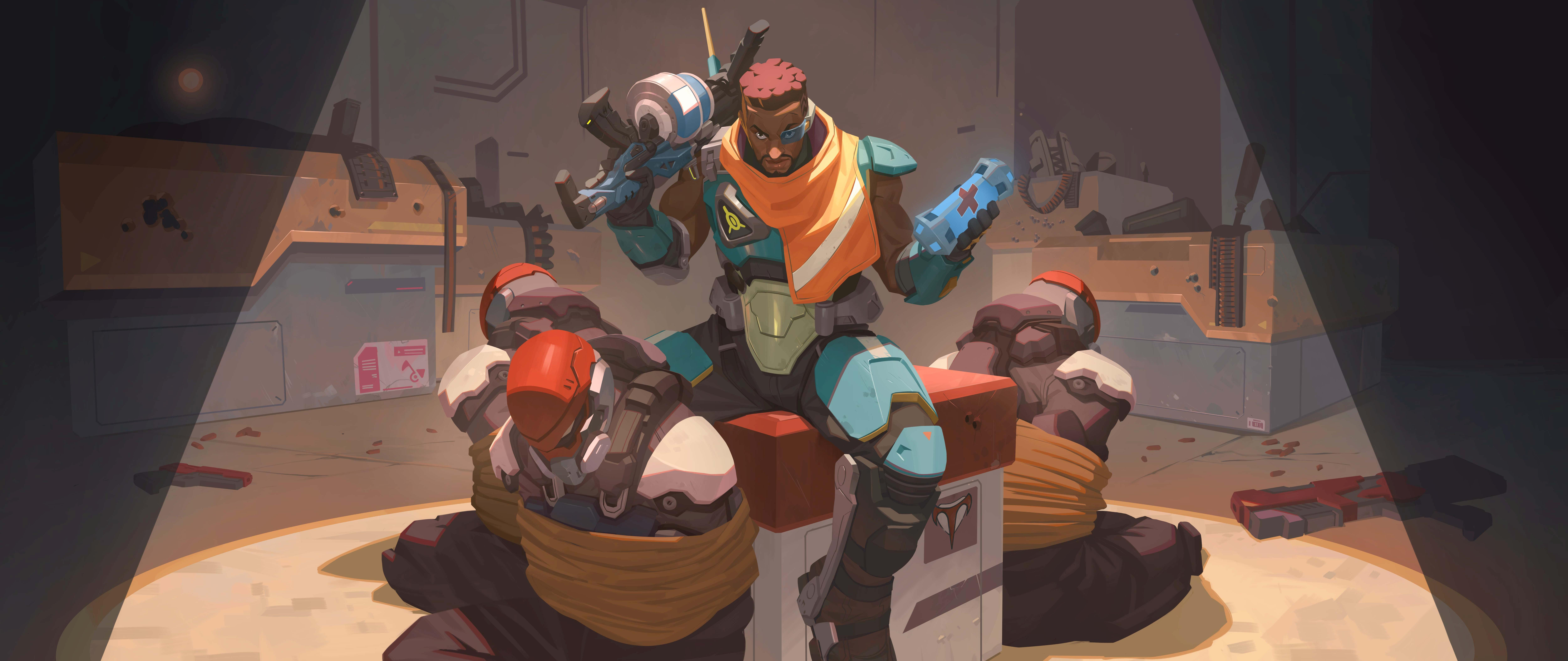 illustration of Baptiste in Overwatch