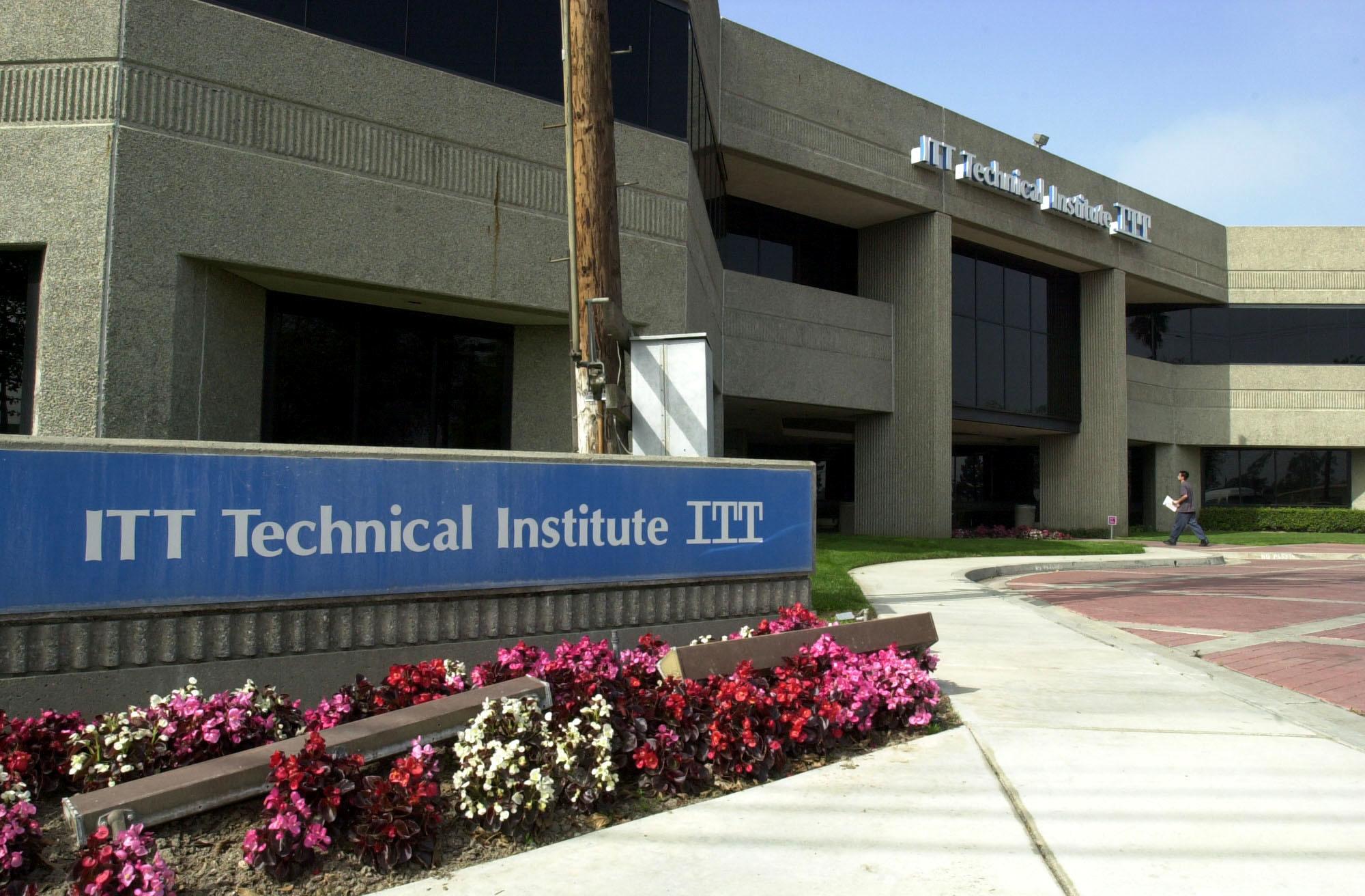 campus of ITT Technical Institute in Anaheim, California