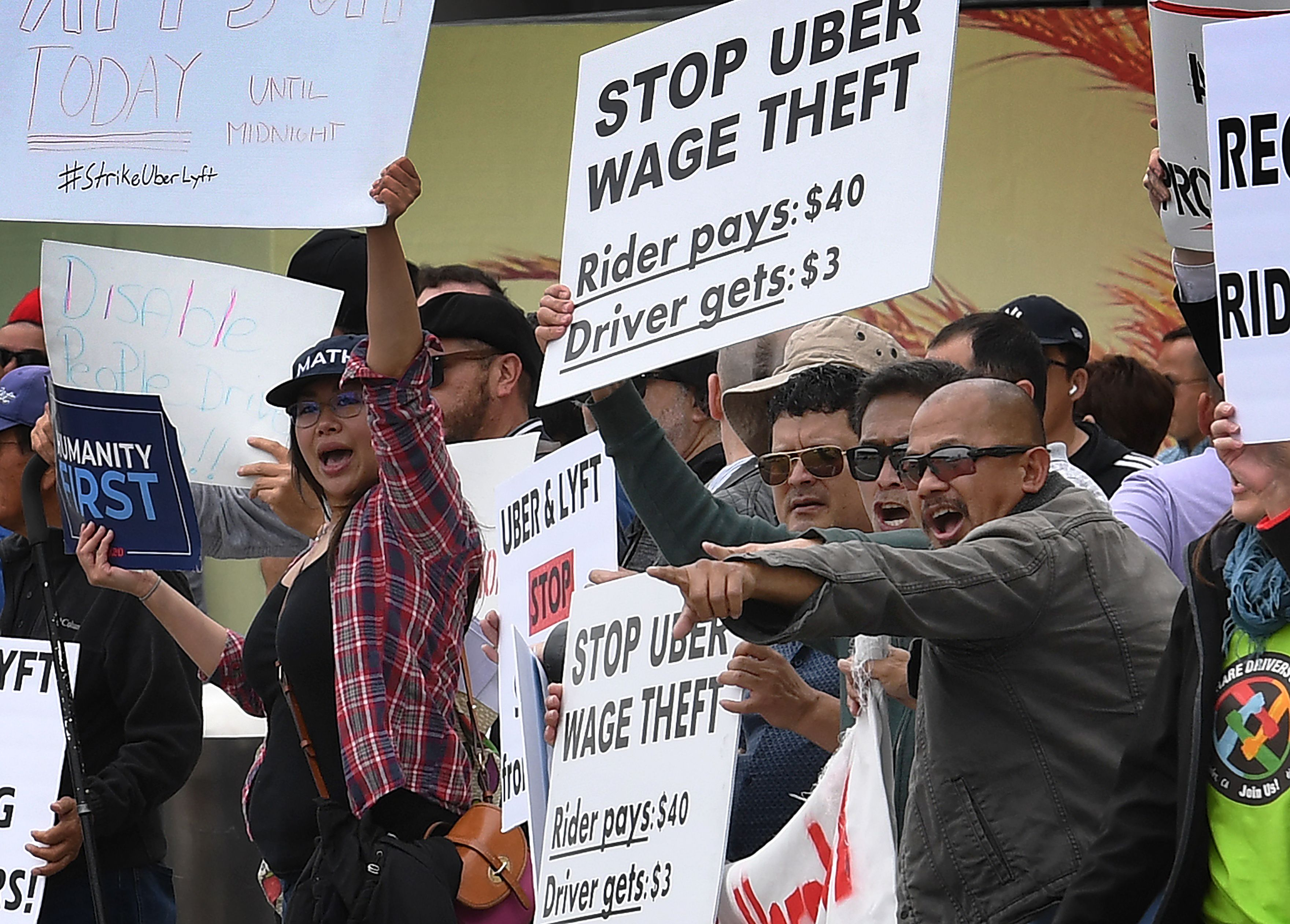 The high-stakes battle between Uber executives and drivers in California, explained