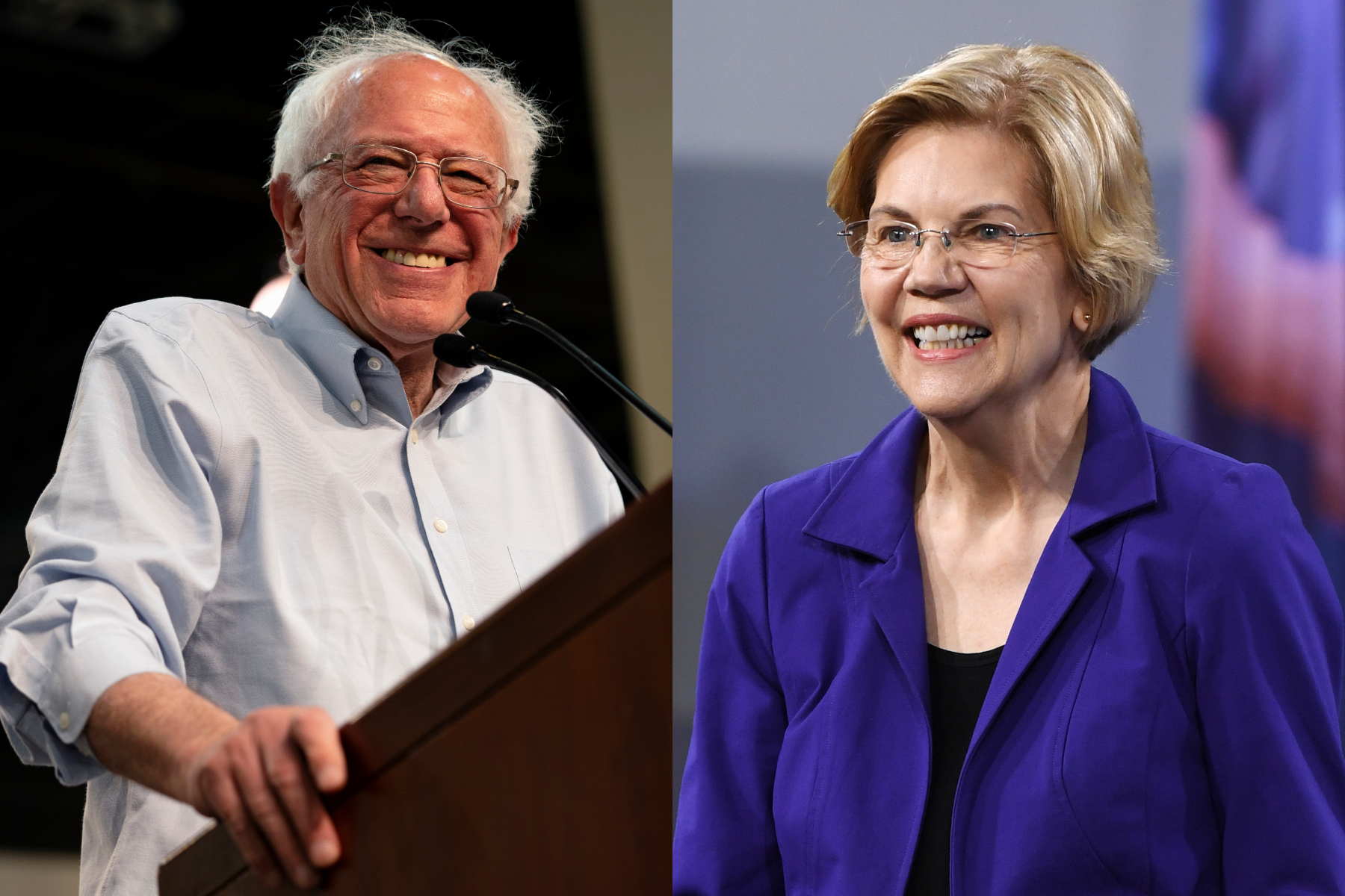 Are Elizabeth Warren and Bernie Sanders the same? The debate, explained.