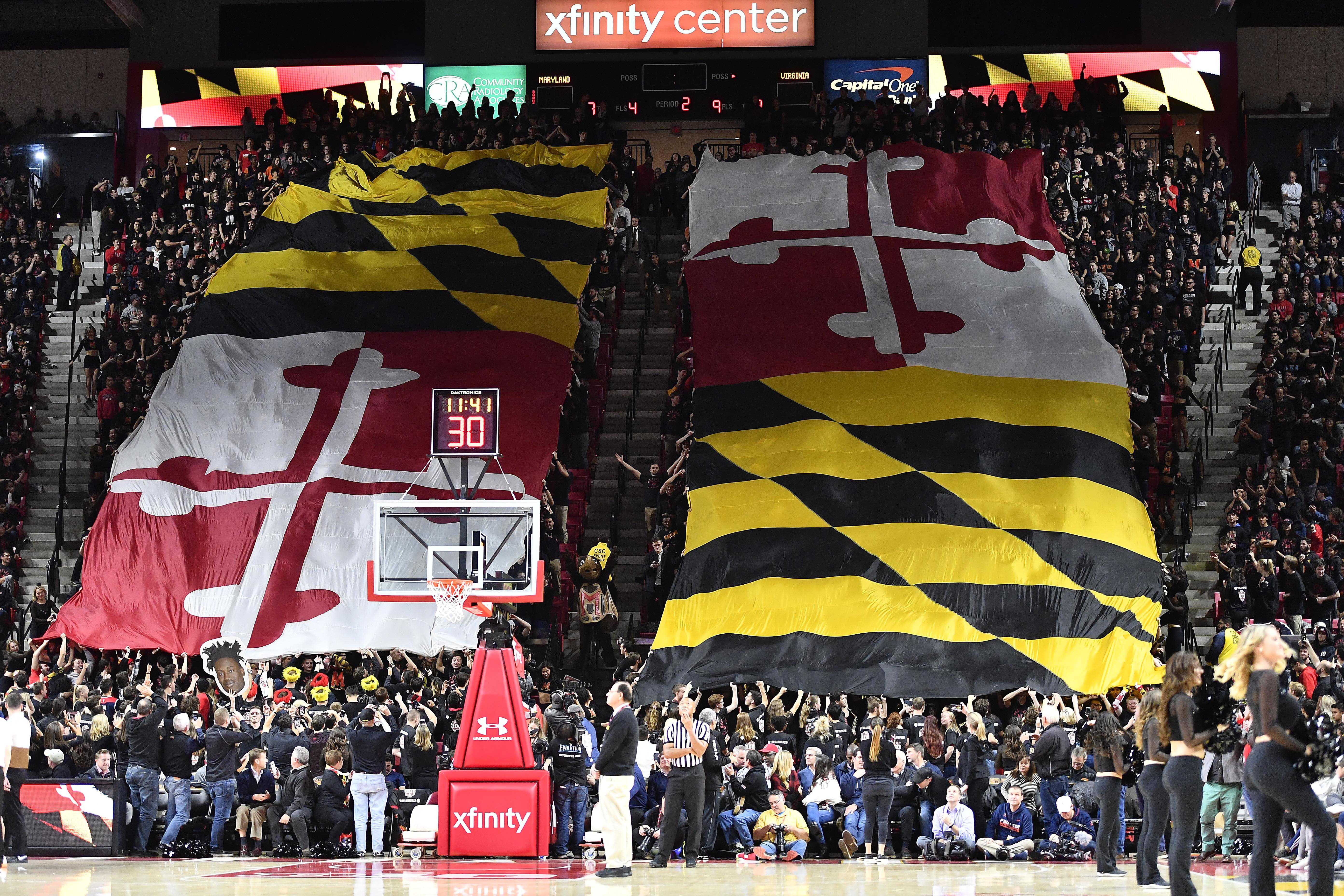 NCAA Basketball: Virginia at Maryland