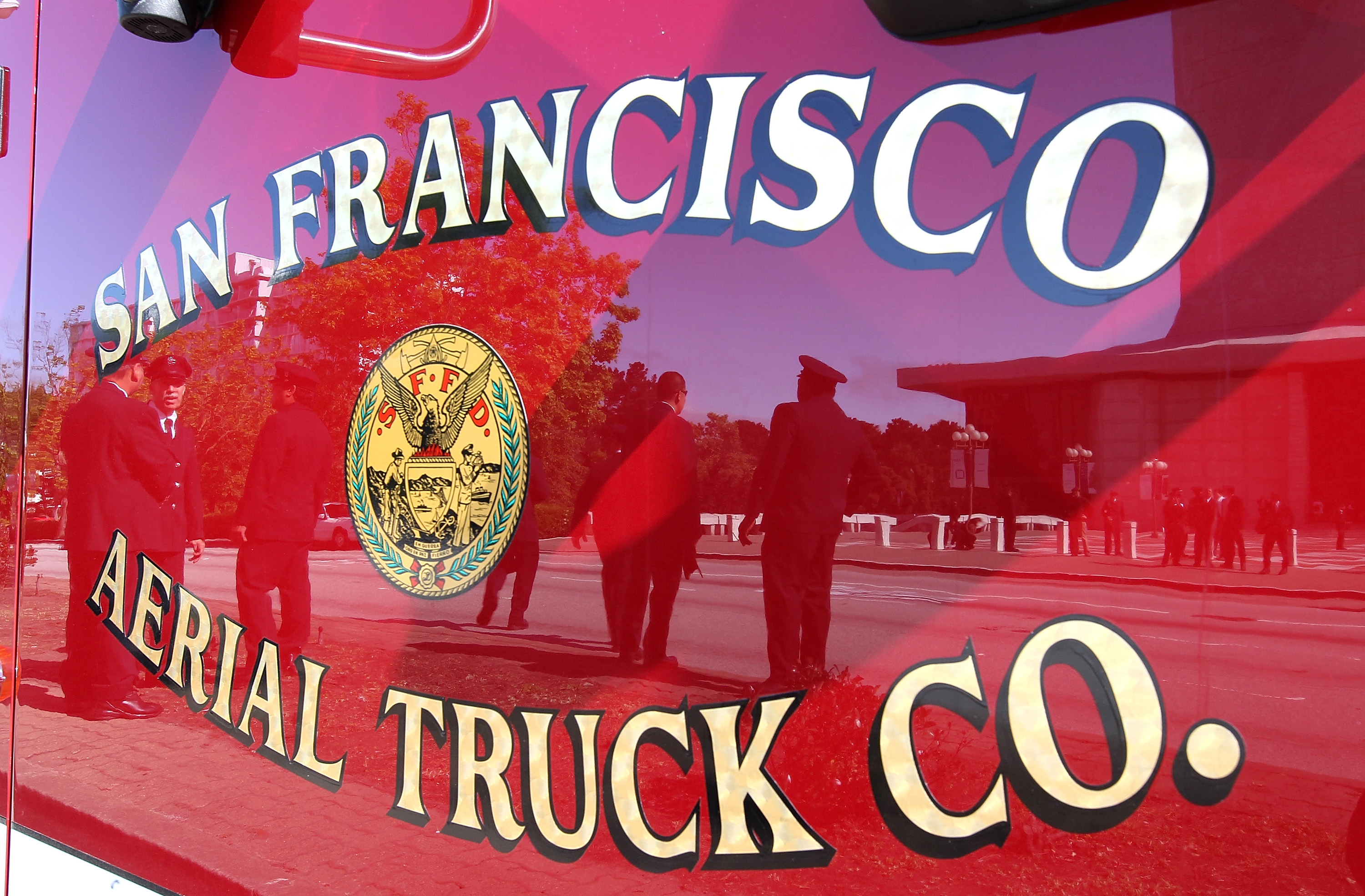 SFFD Contains Fire at Mission Bay Food Truck Compound
