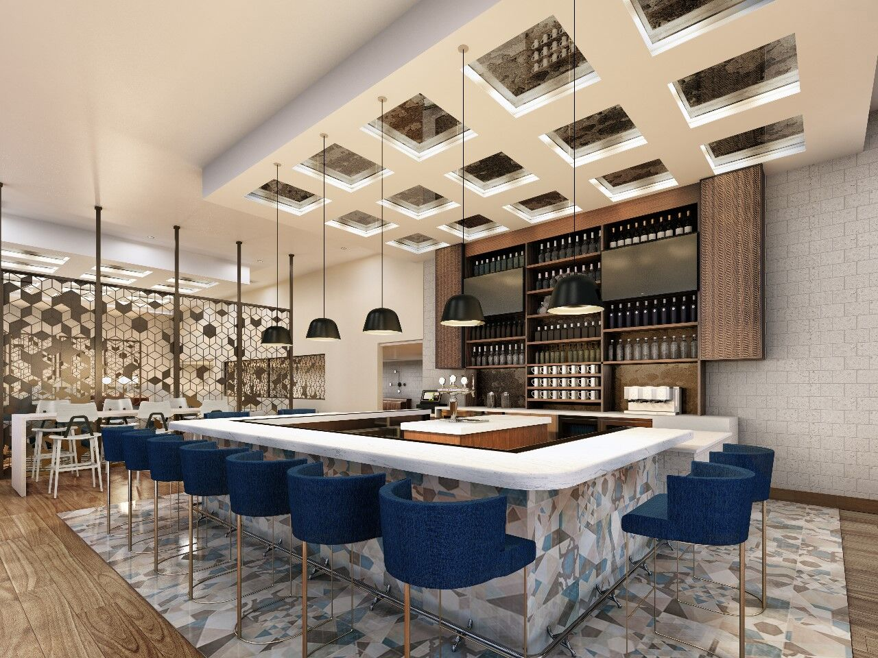 Little Italy Luxury Hotel Reveals Rooftop Bar and Restaurant