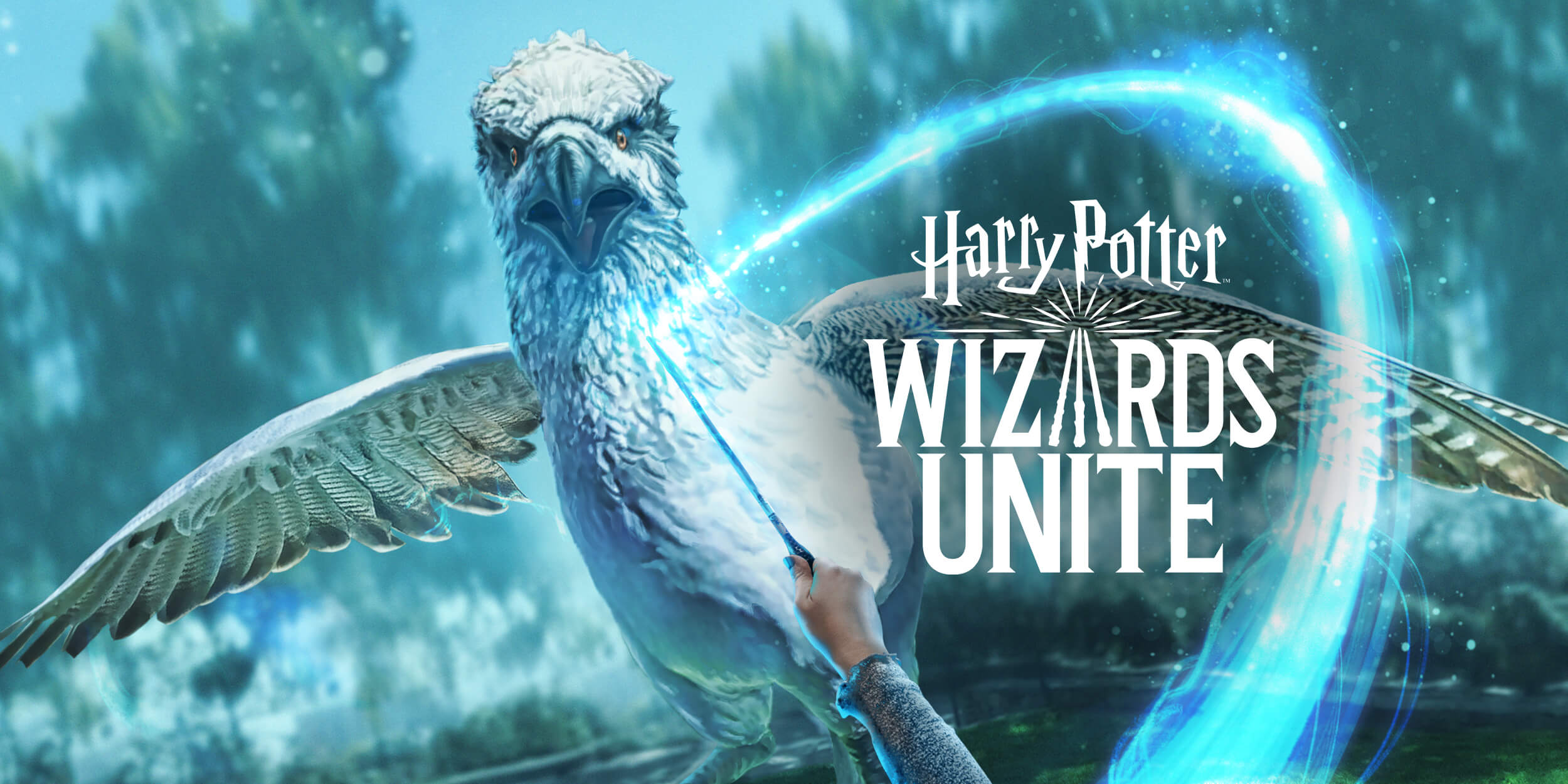 Harry Potter Wizards Unite key art