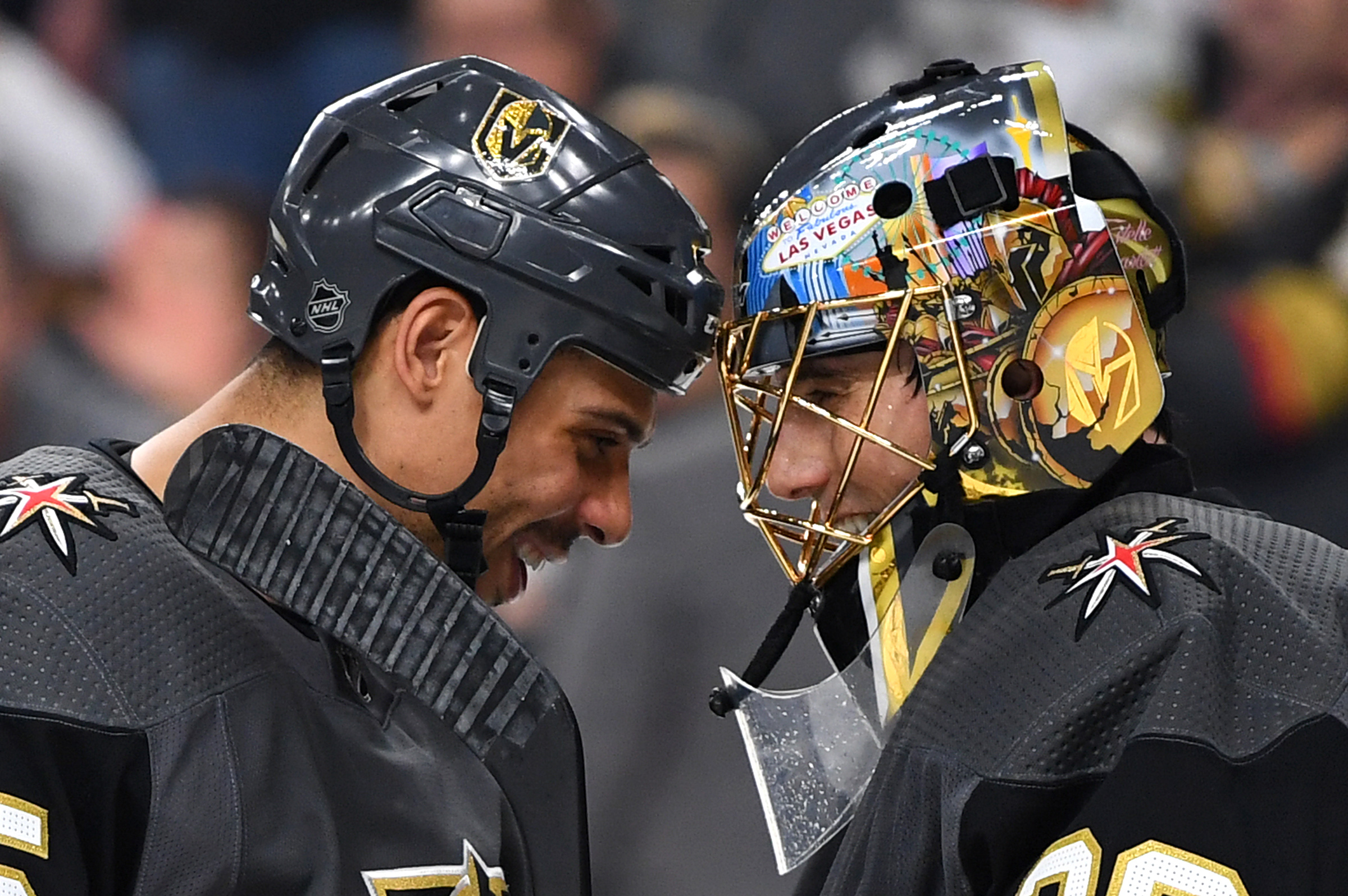 0fdbb647 Golden Knights' Marc-Andre Fleury and Ryan Reaves win NHL Fan Choice Awards  - Knights On Ice