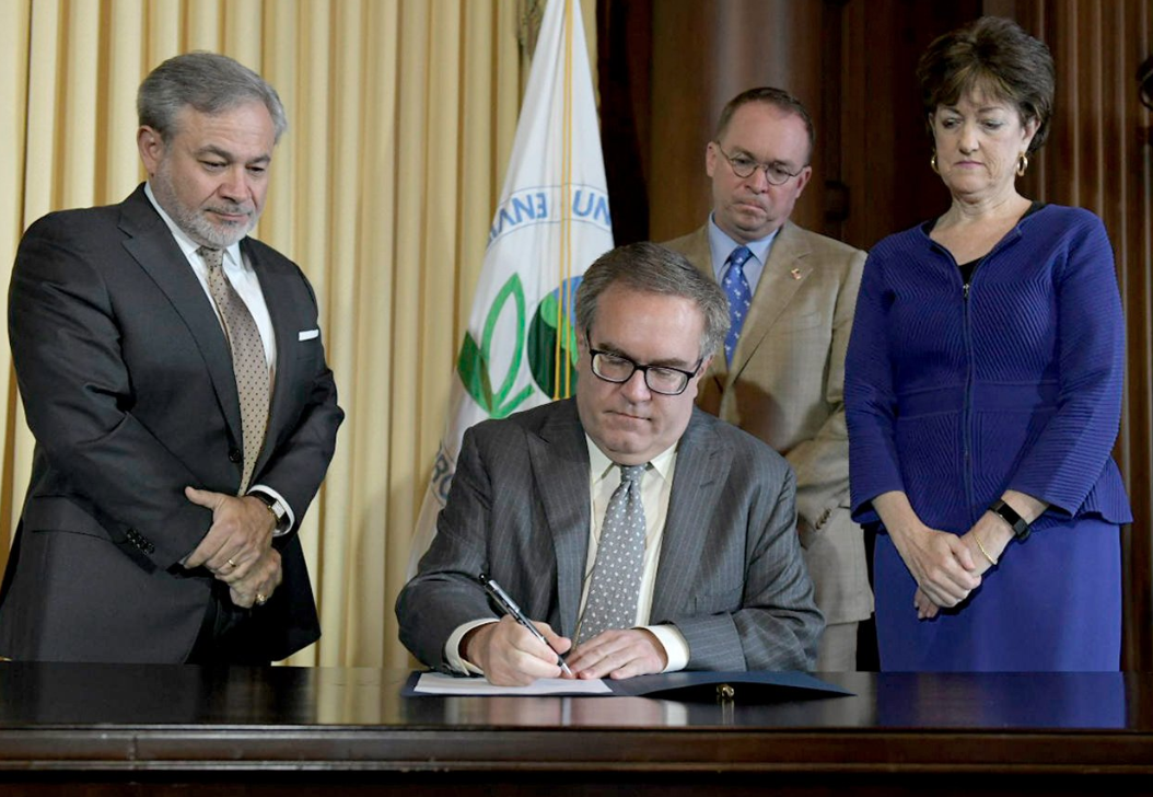 EPA Administrator Andrew Wheeler finalized the Affordable Clean Energy rule on Wednesday, which negates President Obama's main climate policy, the Clean Power Plan.