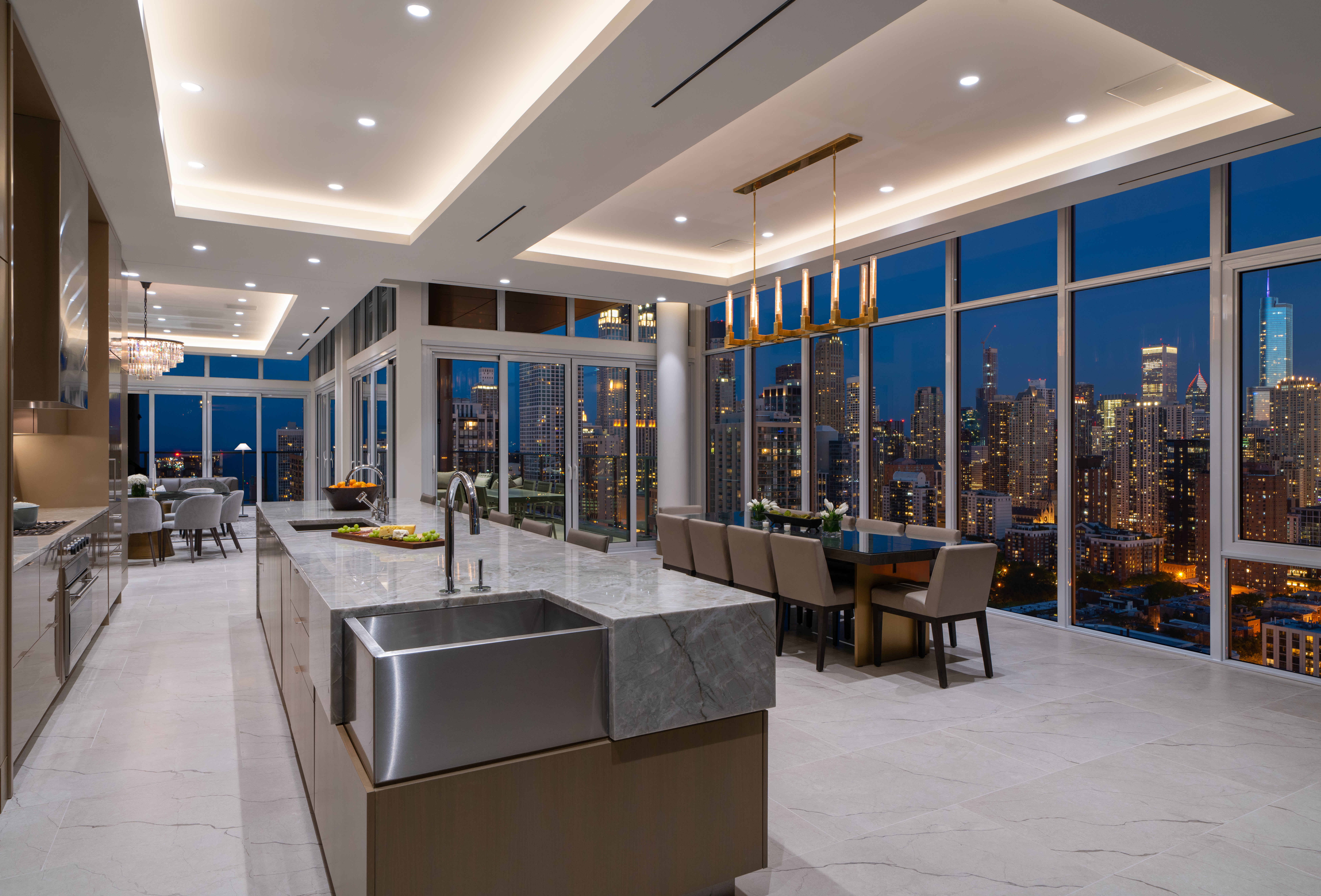 This $45K-per-month penthouse is Chicago's most expensive rental listing