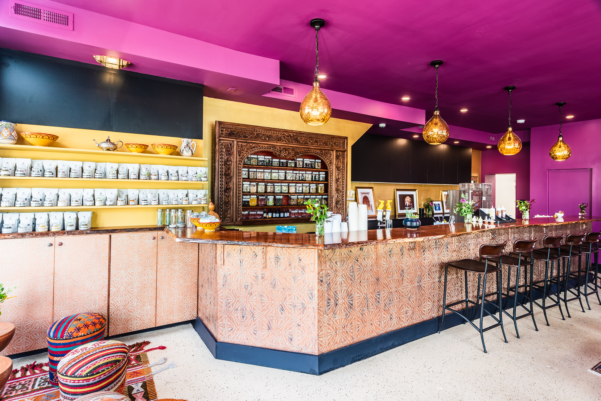 Inside Brookland's New Calabash, a Zen Retreat for Tea and Kombucha Tonics