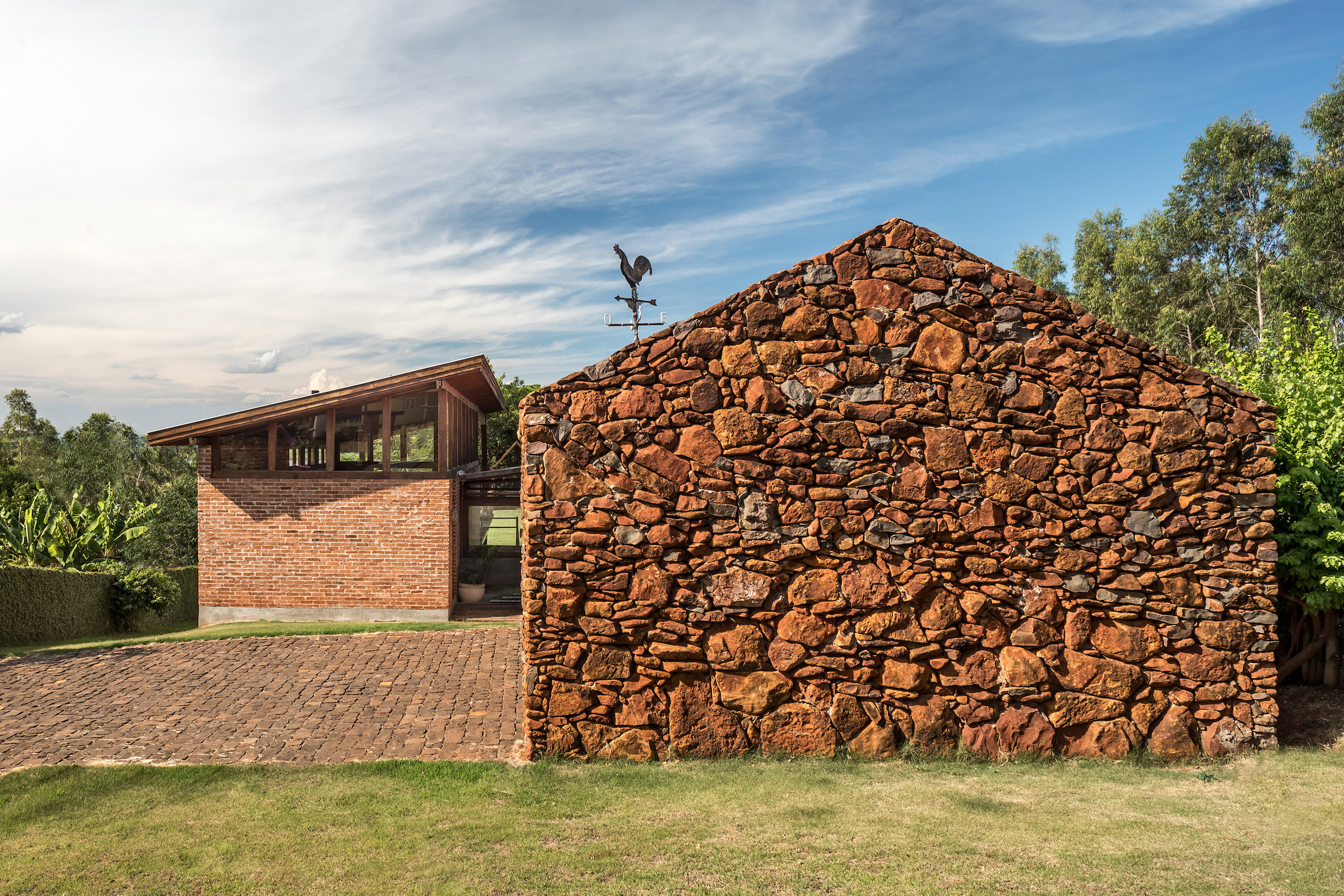 Gorgeous holiday home makes brilliant use of brick