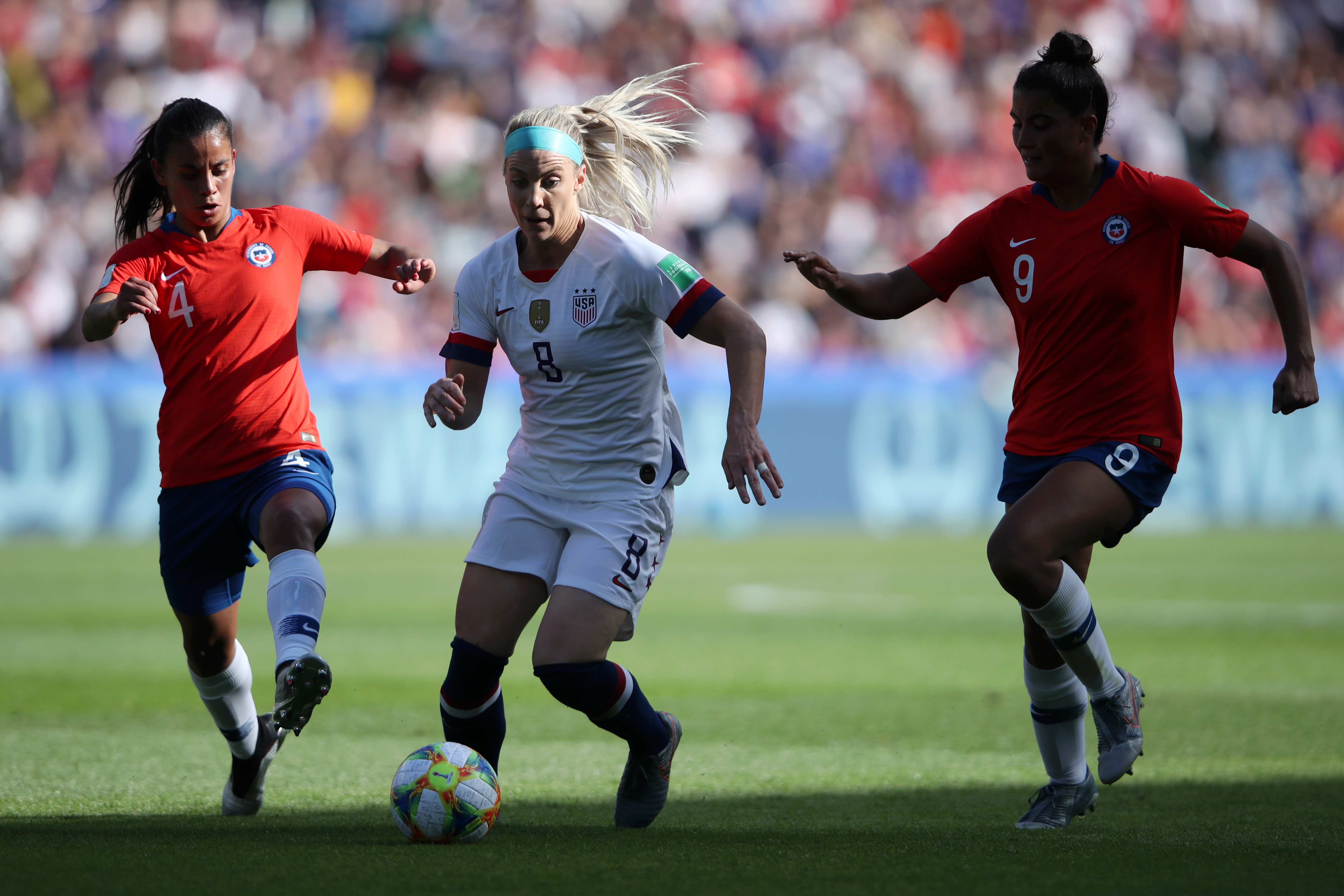 USA v Chile: Group F - 2019 FIFA Women's World Cup France