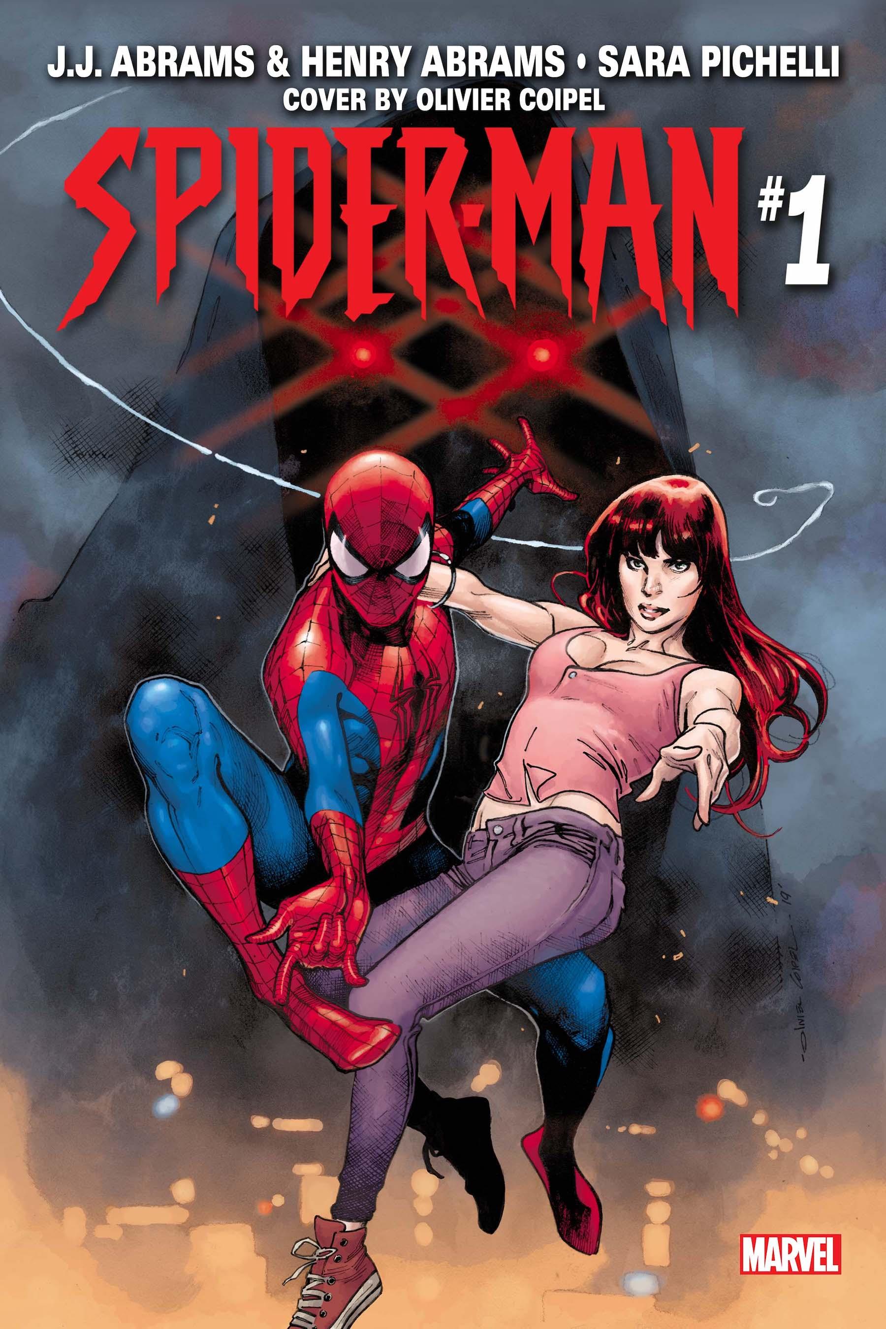 J J  Abrams joins Marvel Comics for a Spider-Man miniseries