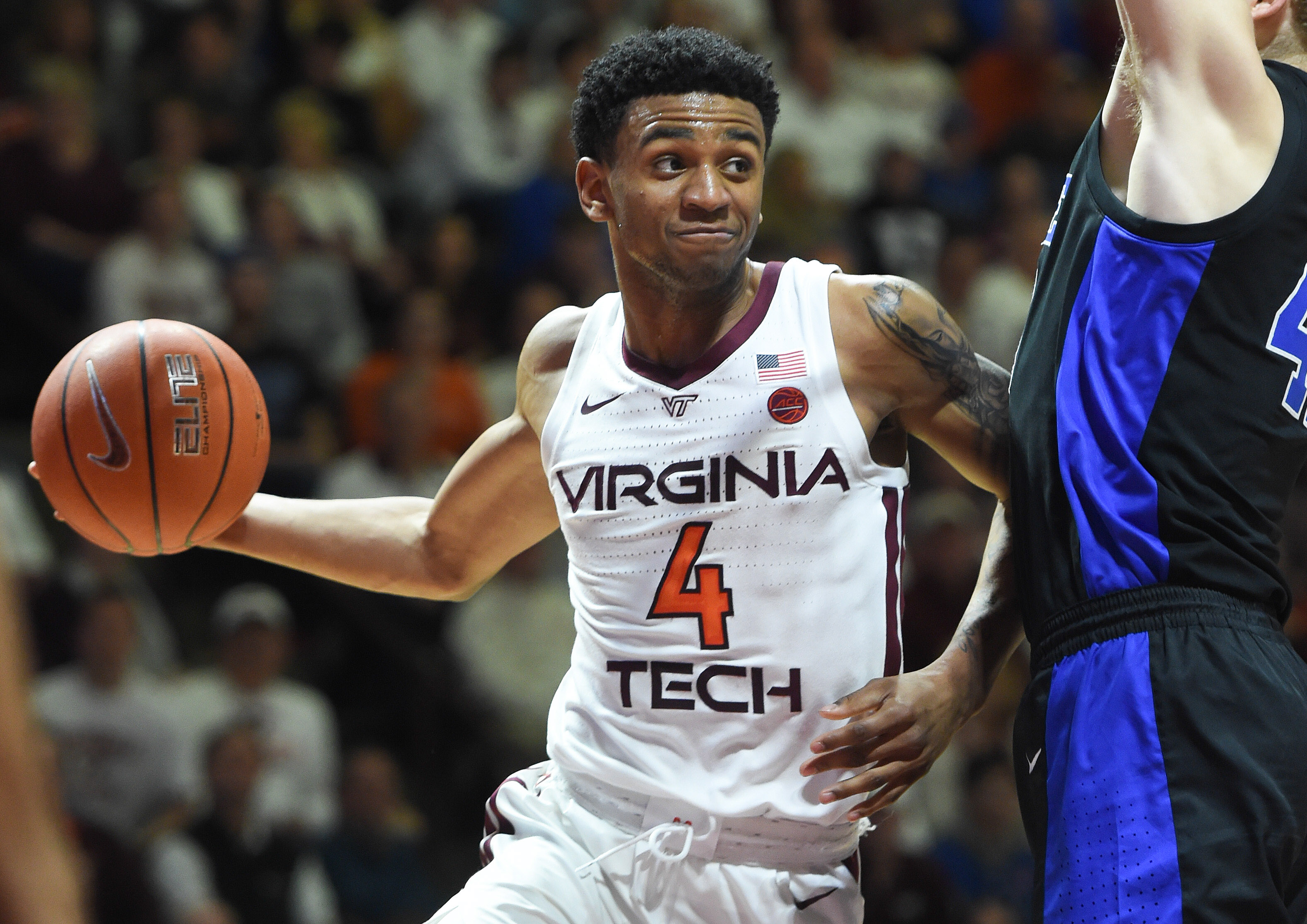 NCAA Basketball: Duke at Virginia Tech