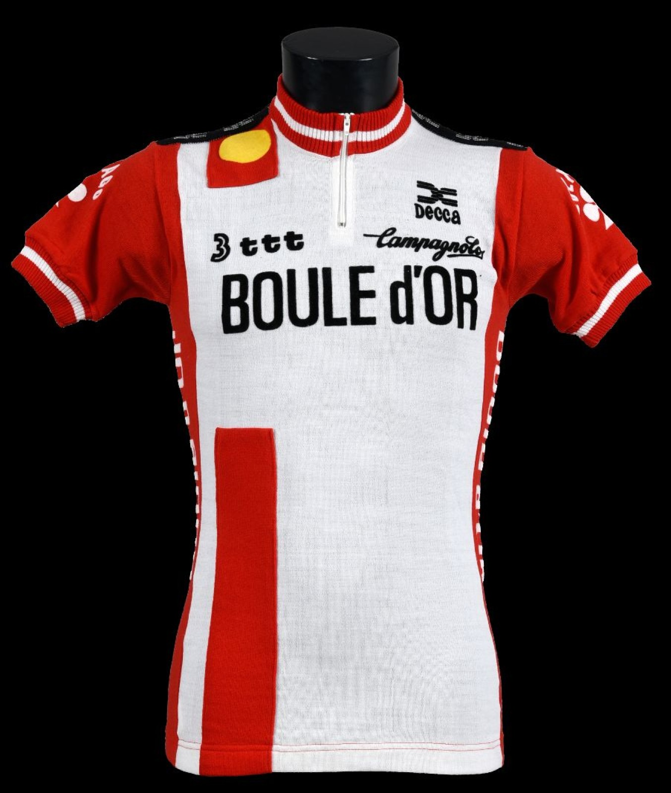 The Belgian cigarette brand Boule d'Or sponsored a cycling team in the early 1980s