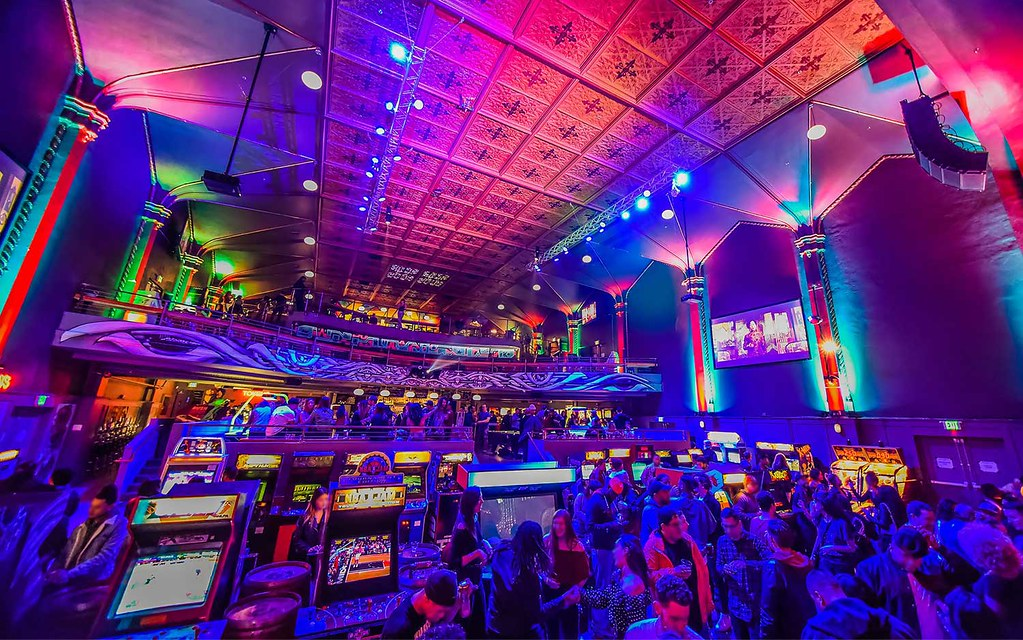 Arcade Games and Cocktails Join Area 15 Later This Year