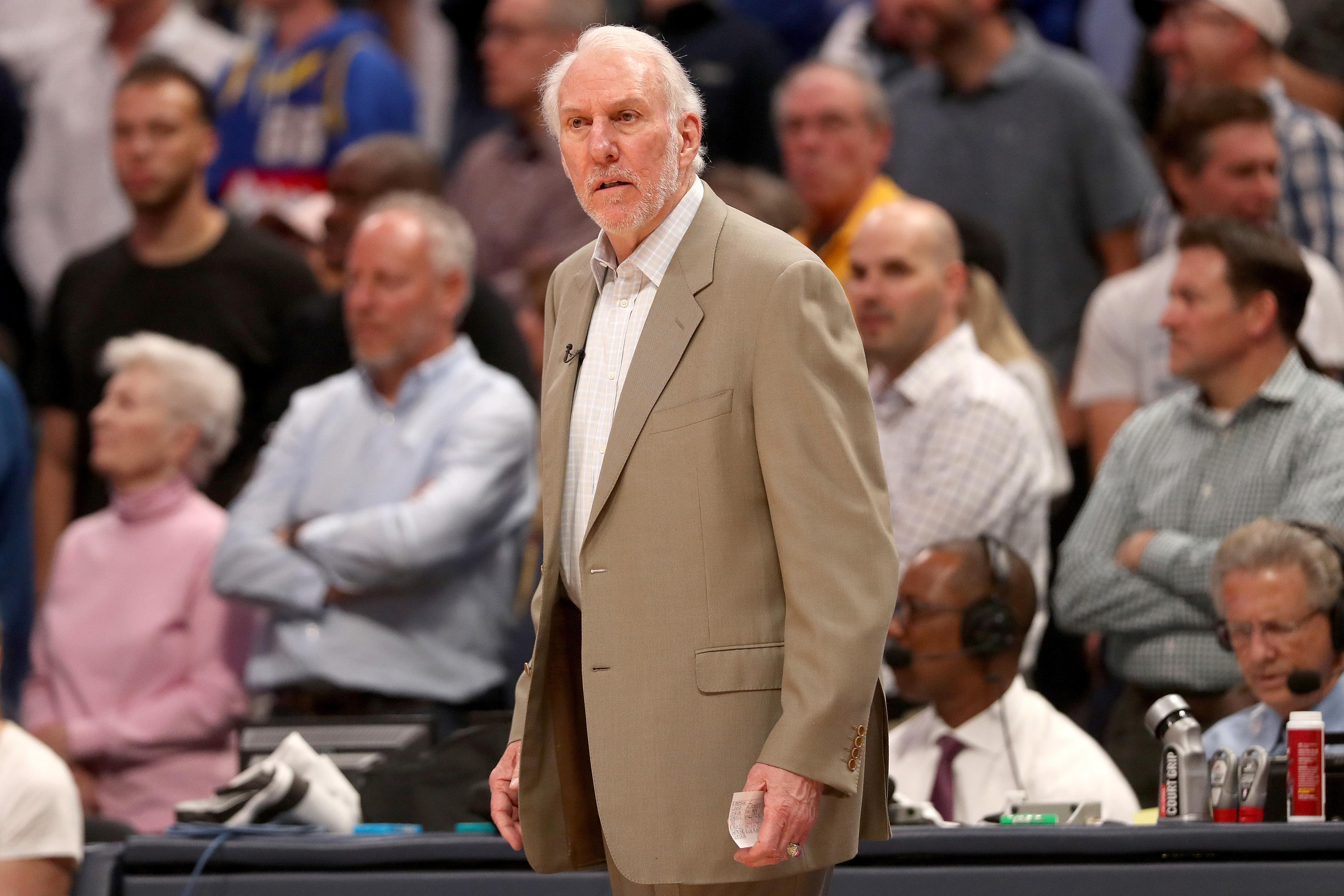 San Antonio Spurs v Denver Nuggets - Game Two