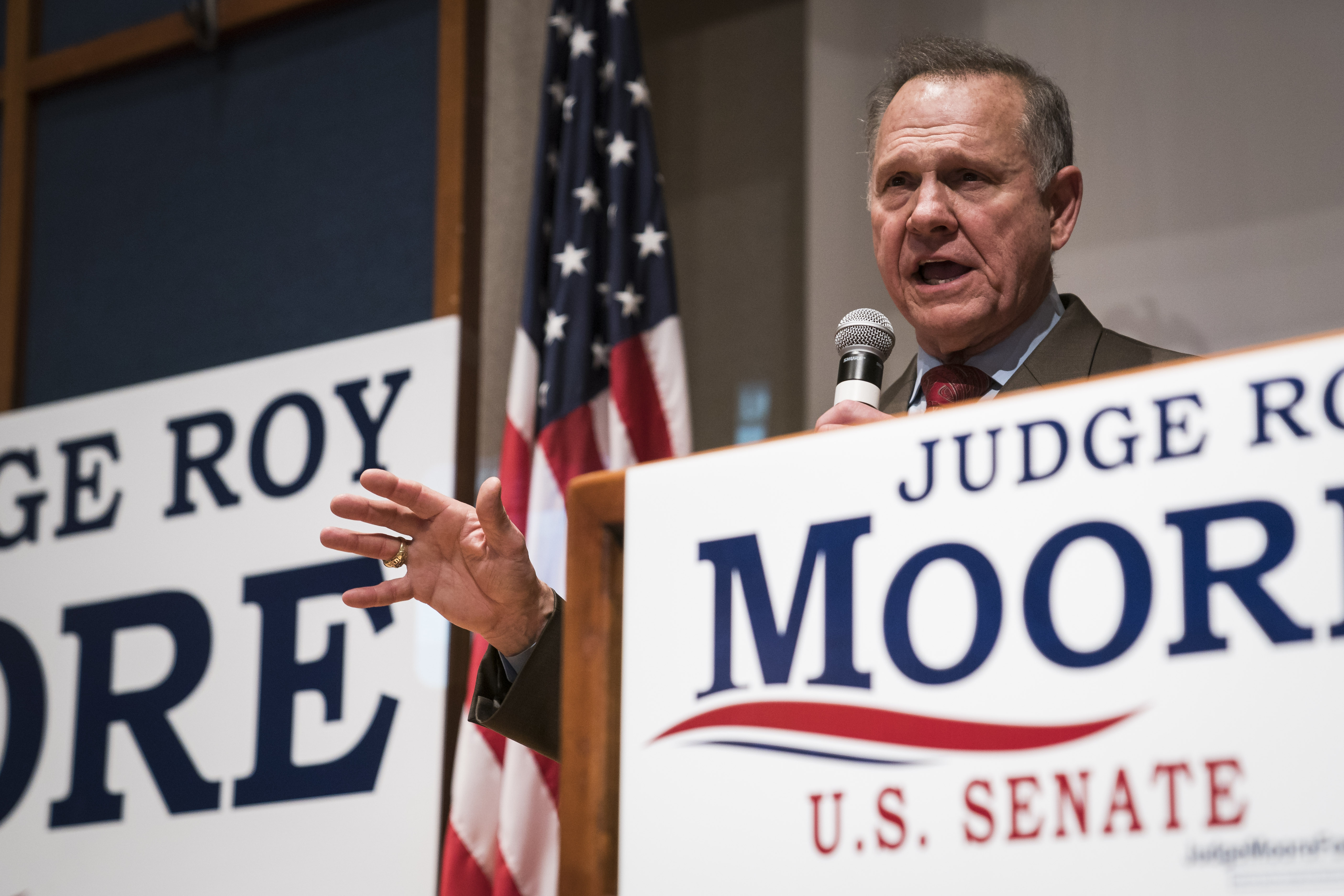 Roy Moore is running for Alabama's Senate seat — again