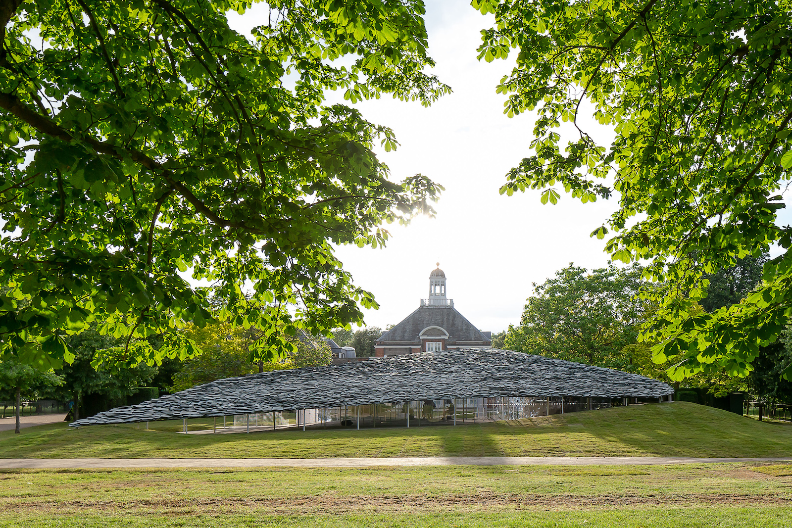 Rocky Serpentine Pavilion by Junya Ishigami set to open in London