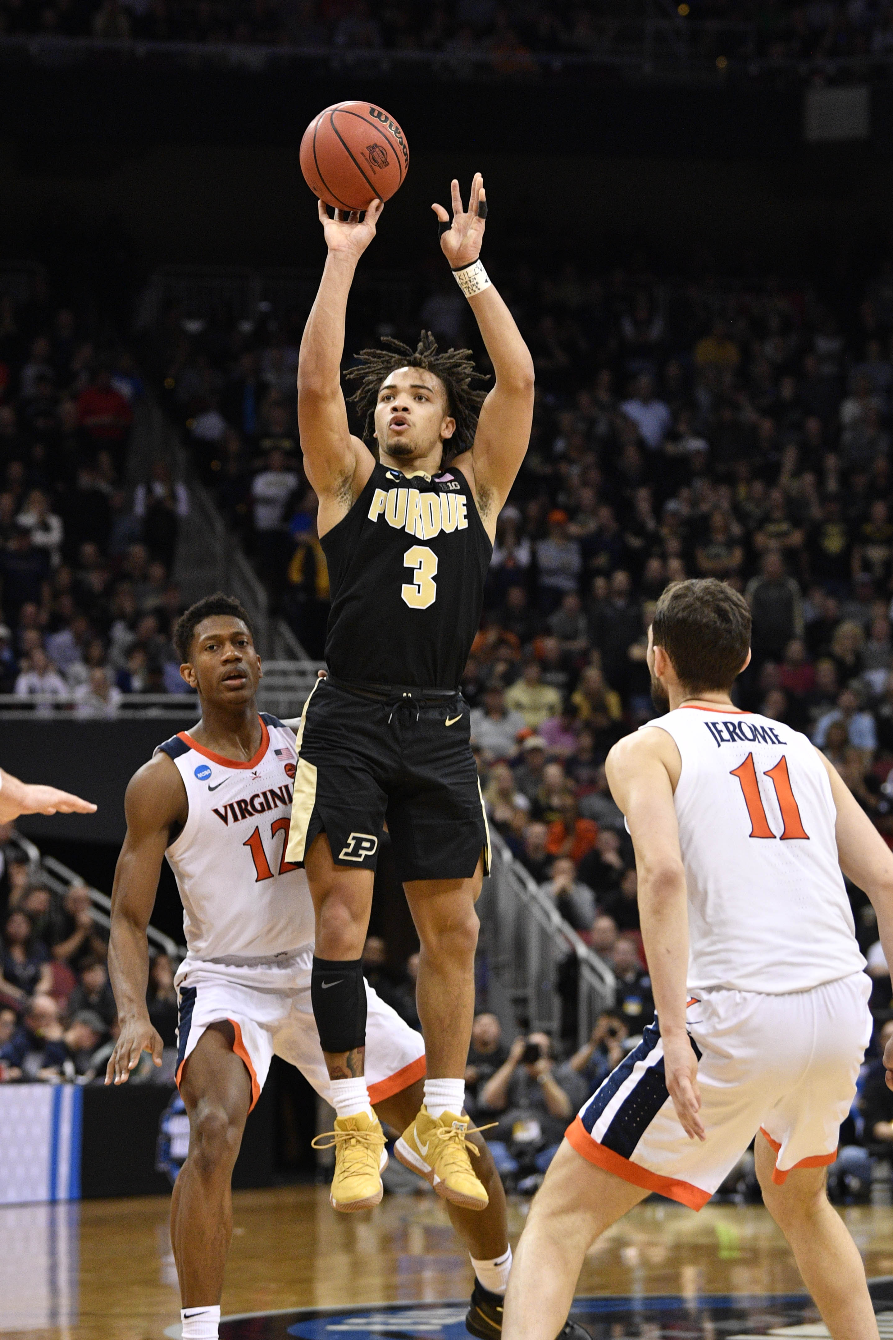 Nba Draft Philadelphia Selects Carsen Edwards 33rd Overall Traded