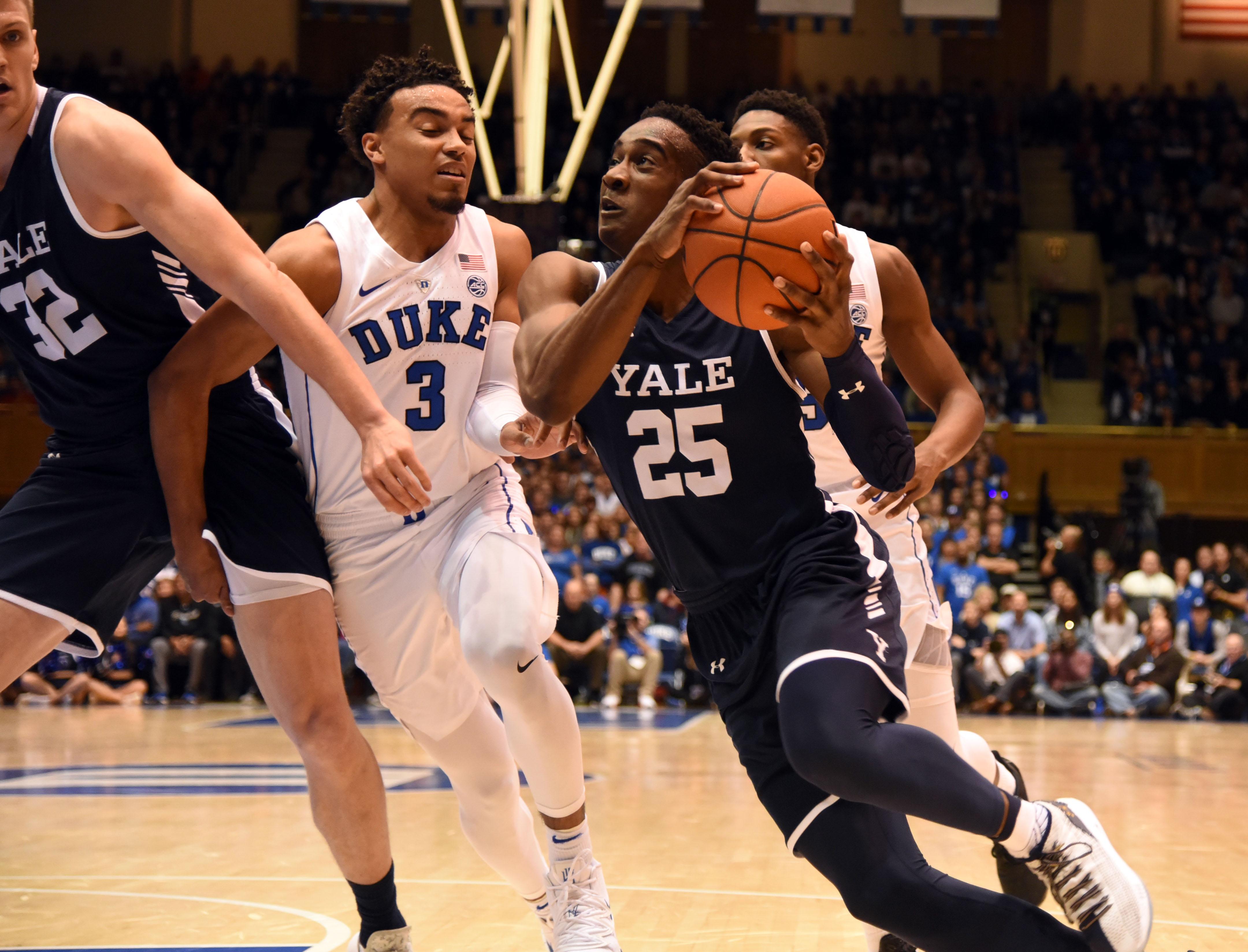 NCAA Basketball: Yale at Duke