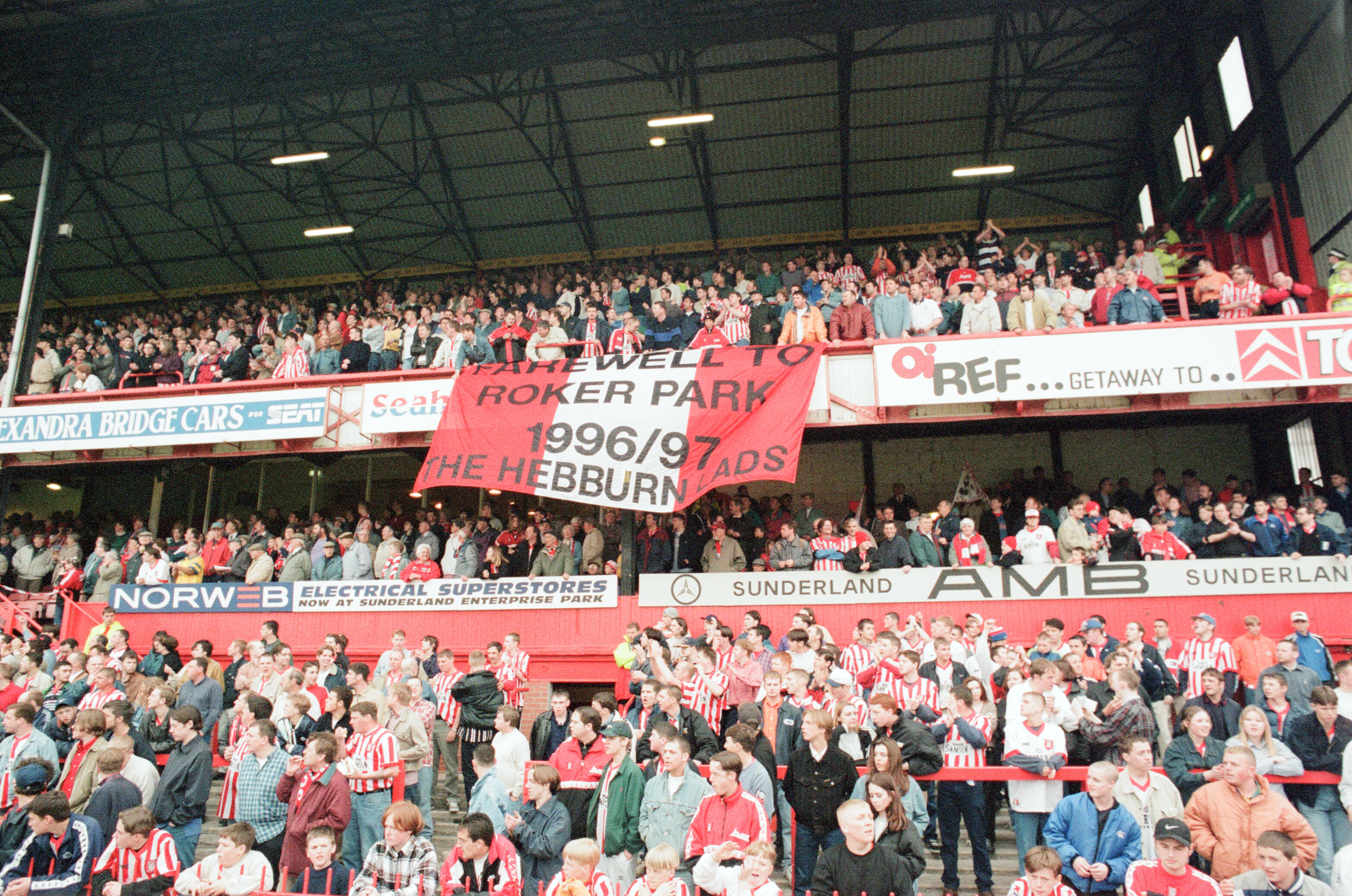 Tales From The Stands: Sunderland 3 Everton 0 (1997) - Roker Park gets a fitting league send-off