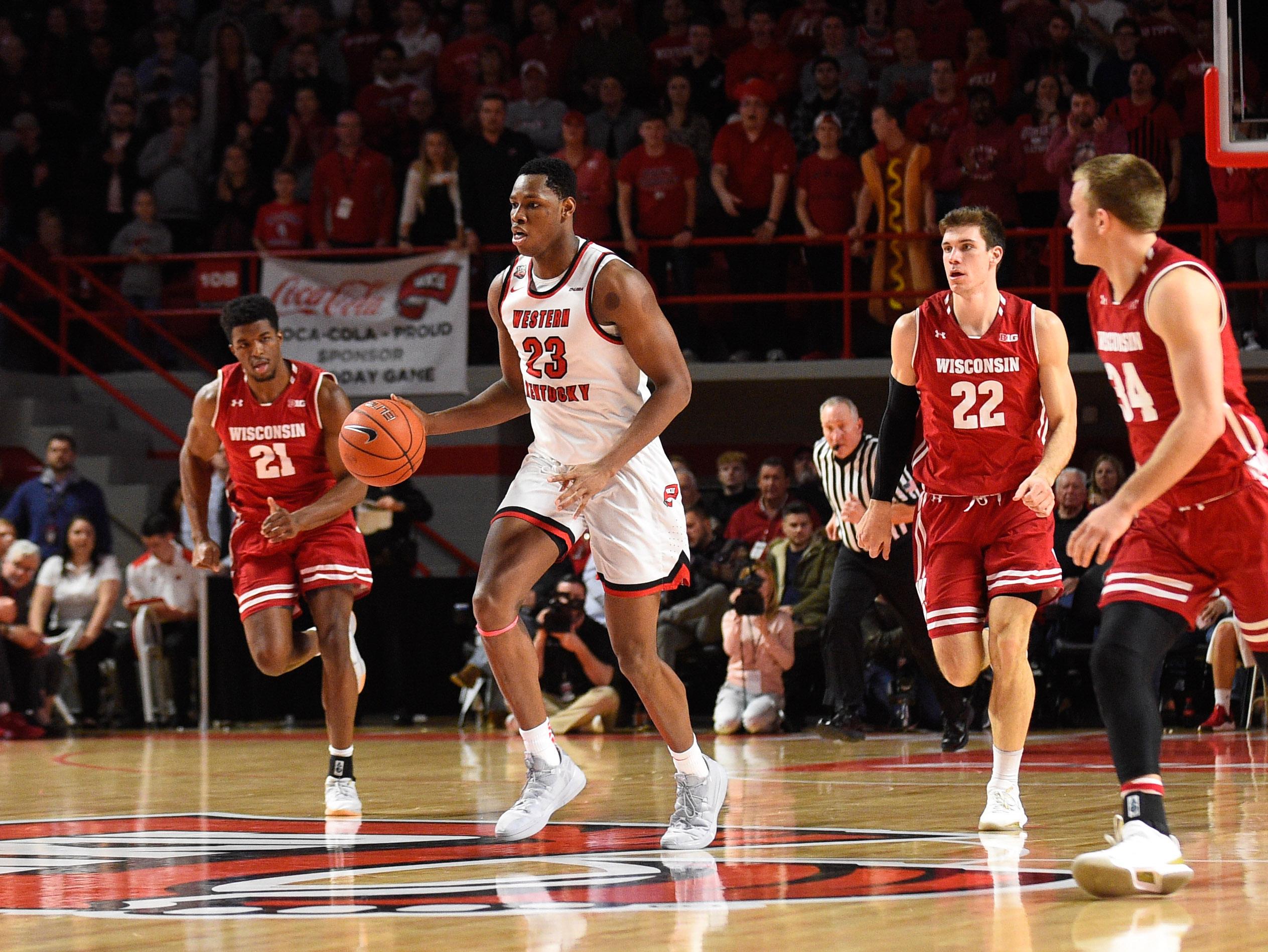 NCAA Basketball: Wisconsin at Western Kentucky