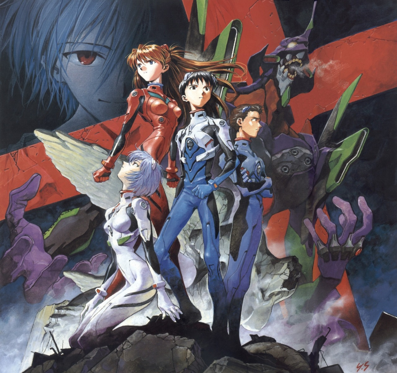 8 things to know about Neon Genesis Evangelion, the legendary anime now streaming on Netflix