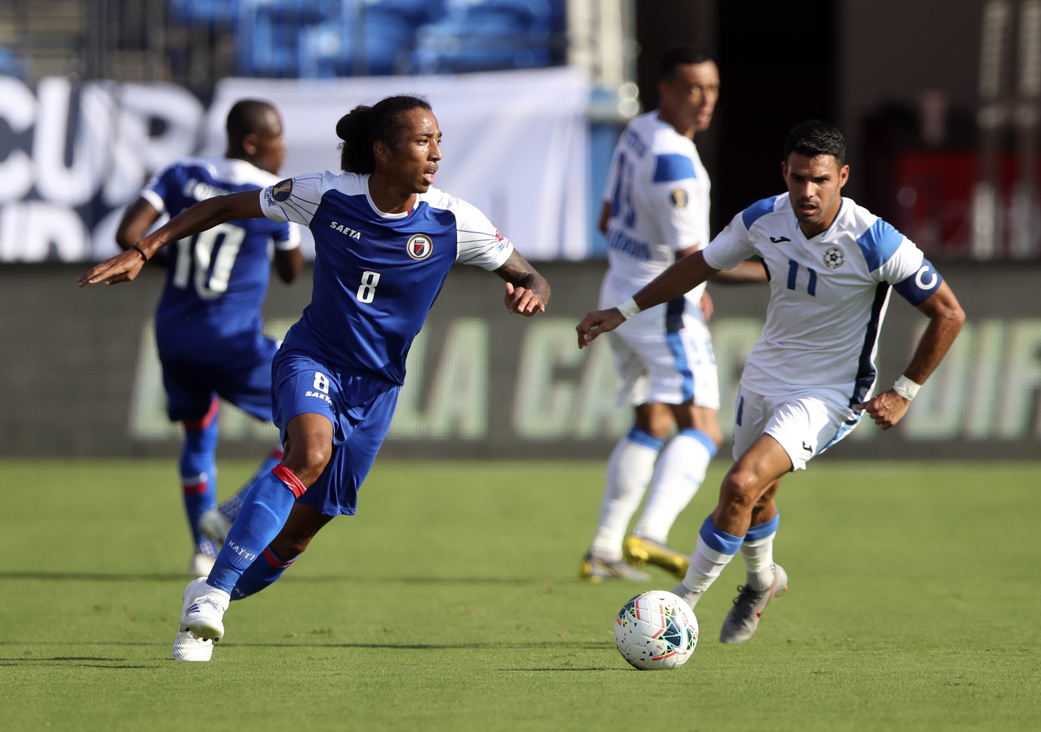 Soccer: CONCACAF Gold Cup-Nicaragua at Haiti