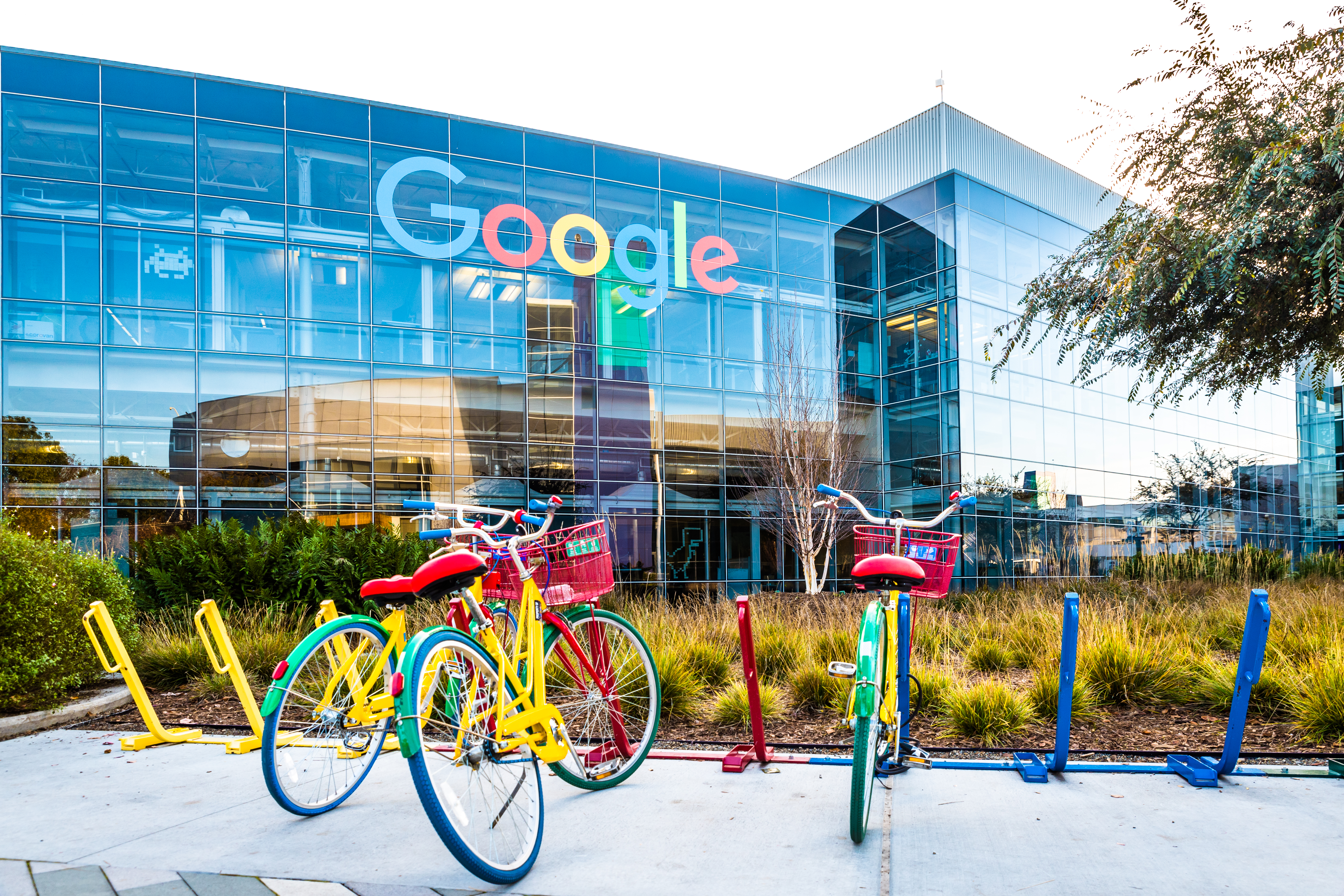 Google offices in Mountain View in 2016.