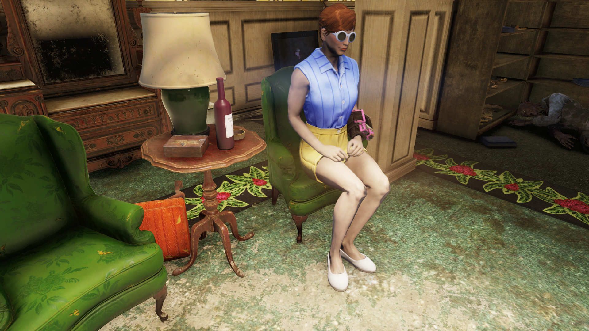 I'm a Fallout 76 wine mom and I'm gonna cut you